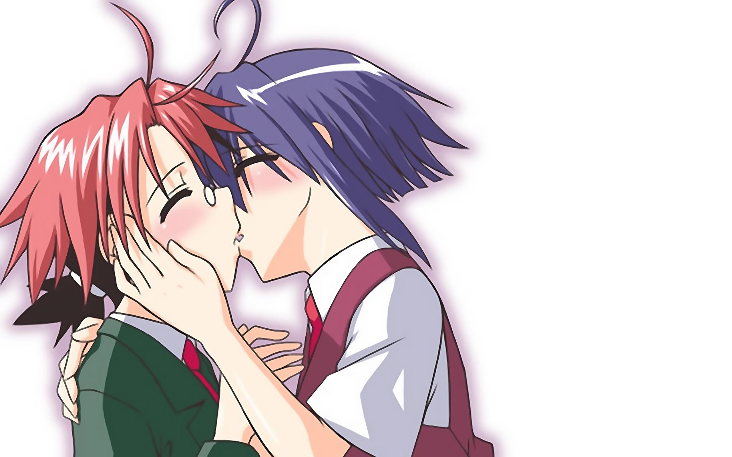 Sexey kuuma tyttöjen suudella-8321