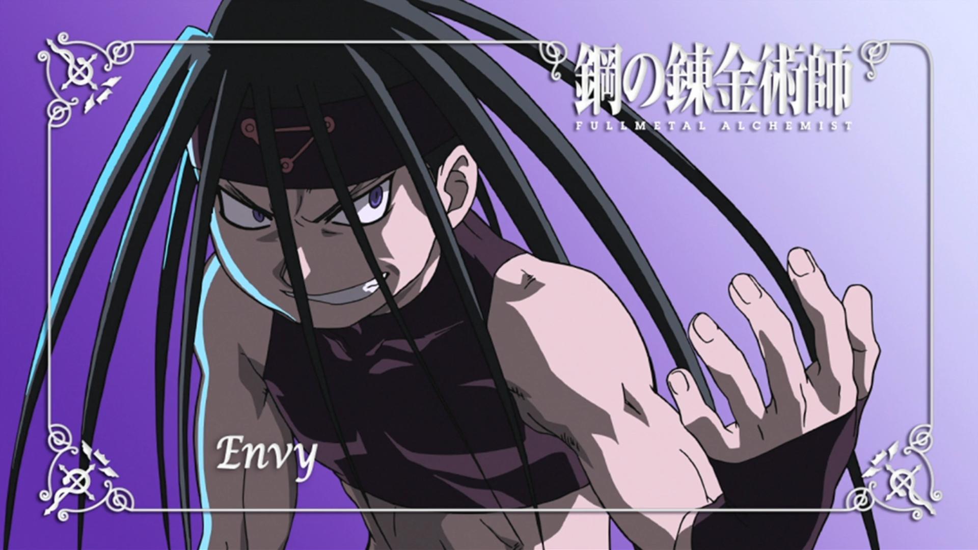Illustration Anime Cartoon Comics Fullmetal Alchemist Brotherhood Envy Mangaka