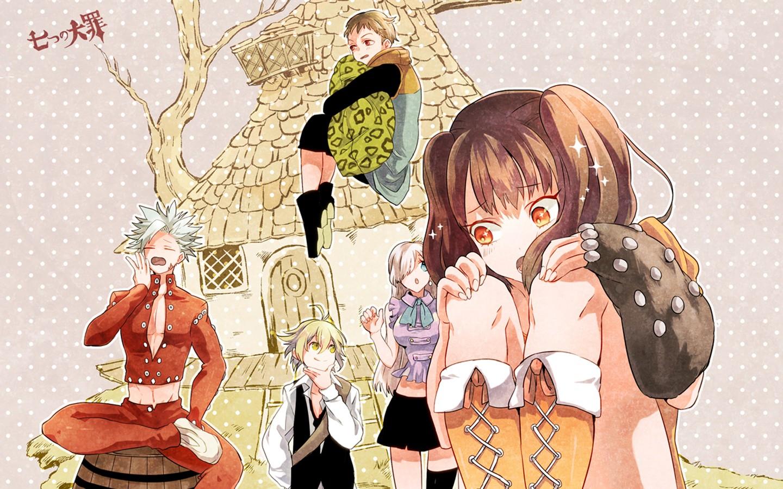 Sfondi illustrazione anime cartone animato i fumetti nanatsu