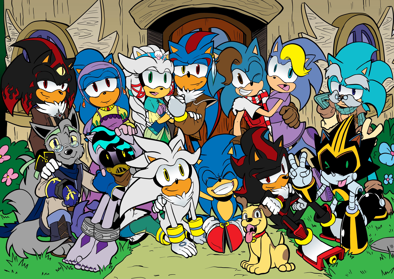 Sonic sesso cartoni animati