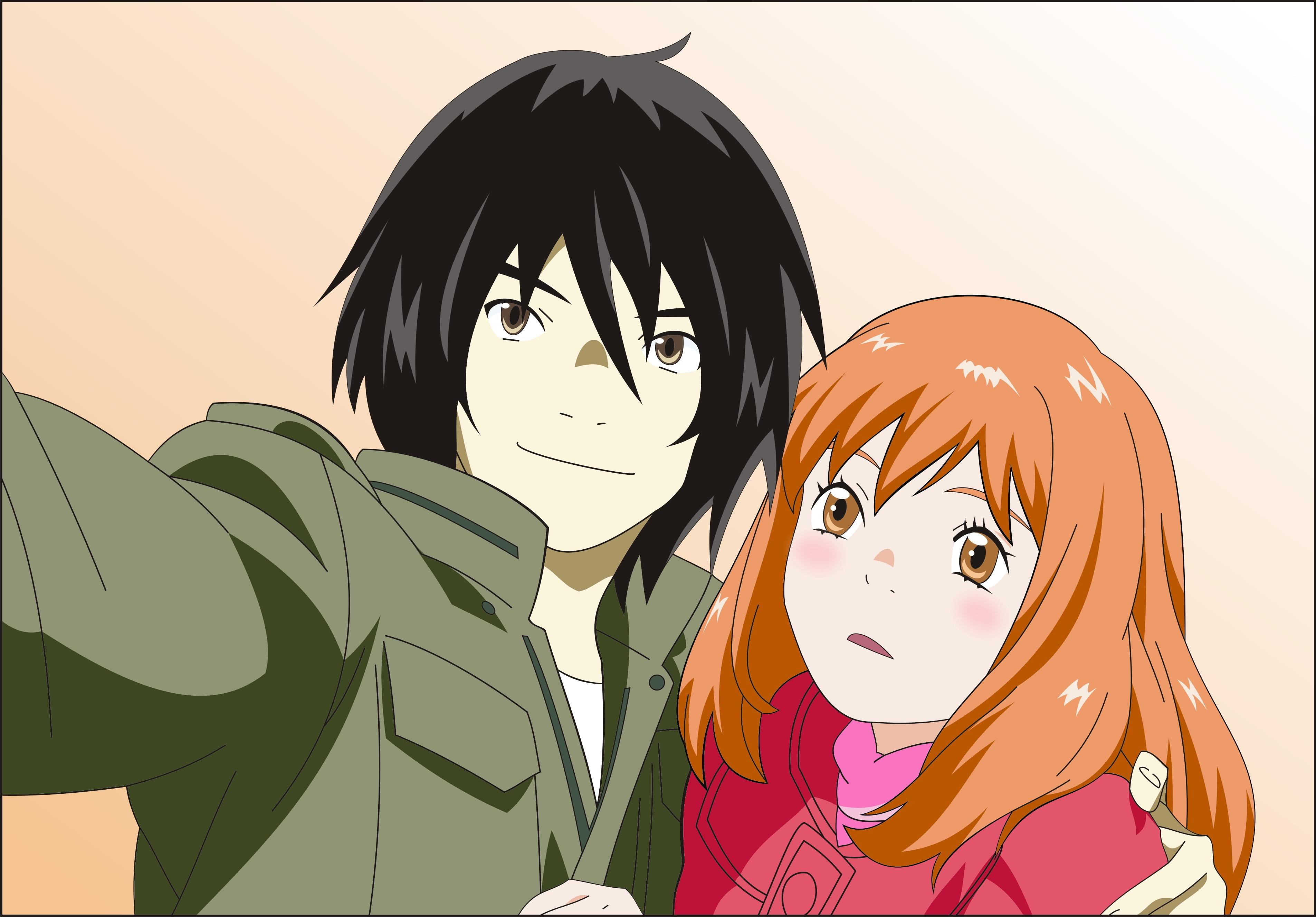 Wallpaper Illustration Anime Cartoon Mouth Higashi No Eden