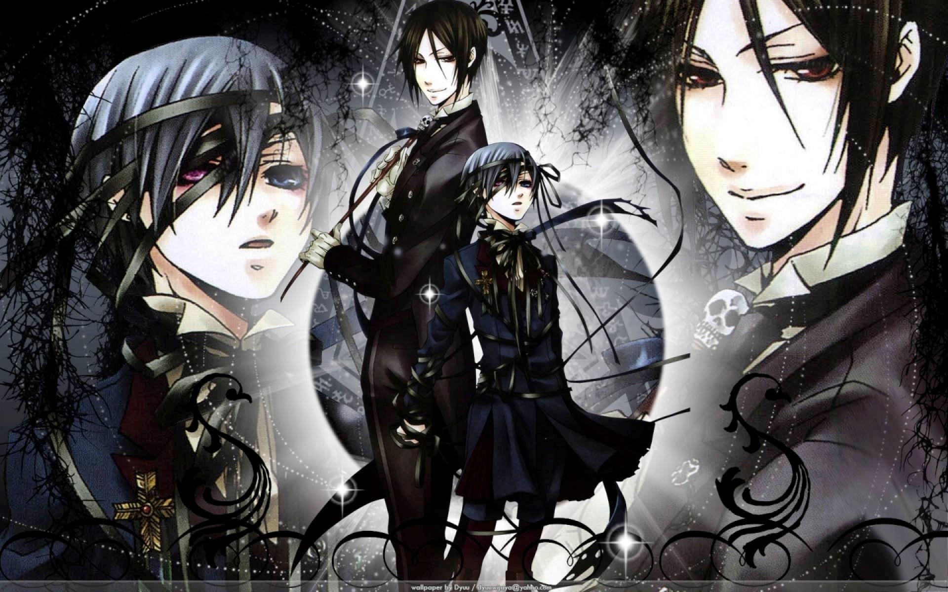 Illustration Anime Comics Kuroshitsuji Michaelis Sebastian Ciel Phantomhive Black Butler Mangaka Comic Book