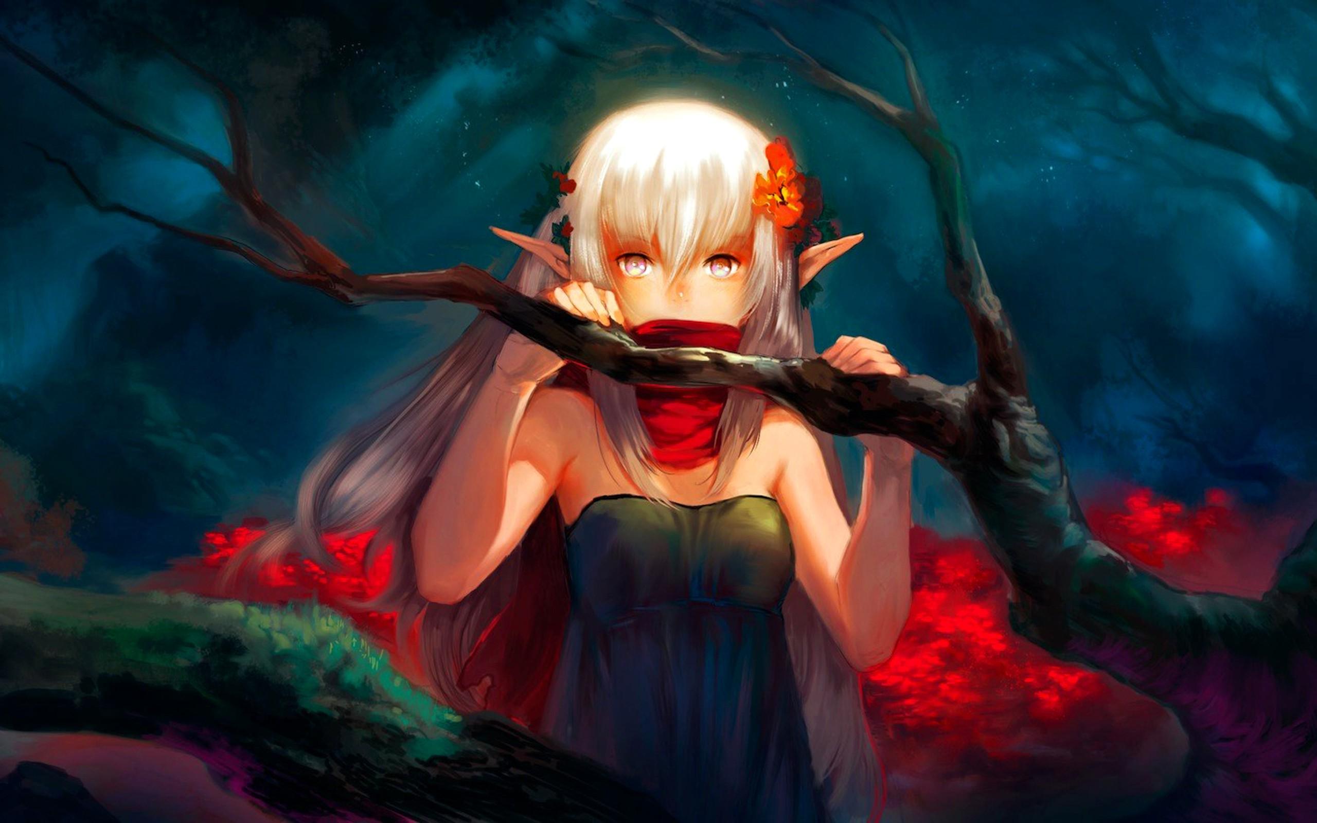 Fond d'écran : illustration, Anime, démon, mythologie, ART, obscurité, capture d'écran ...