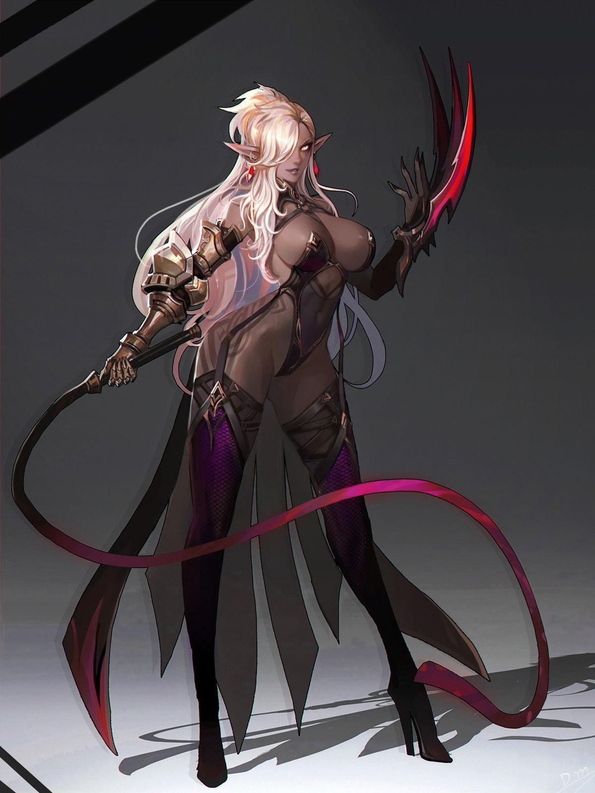 Dark elf anime xxx hardcore picture