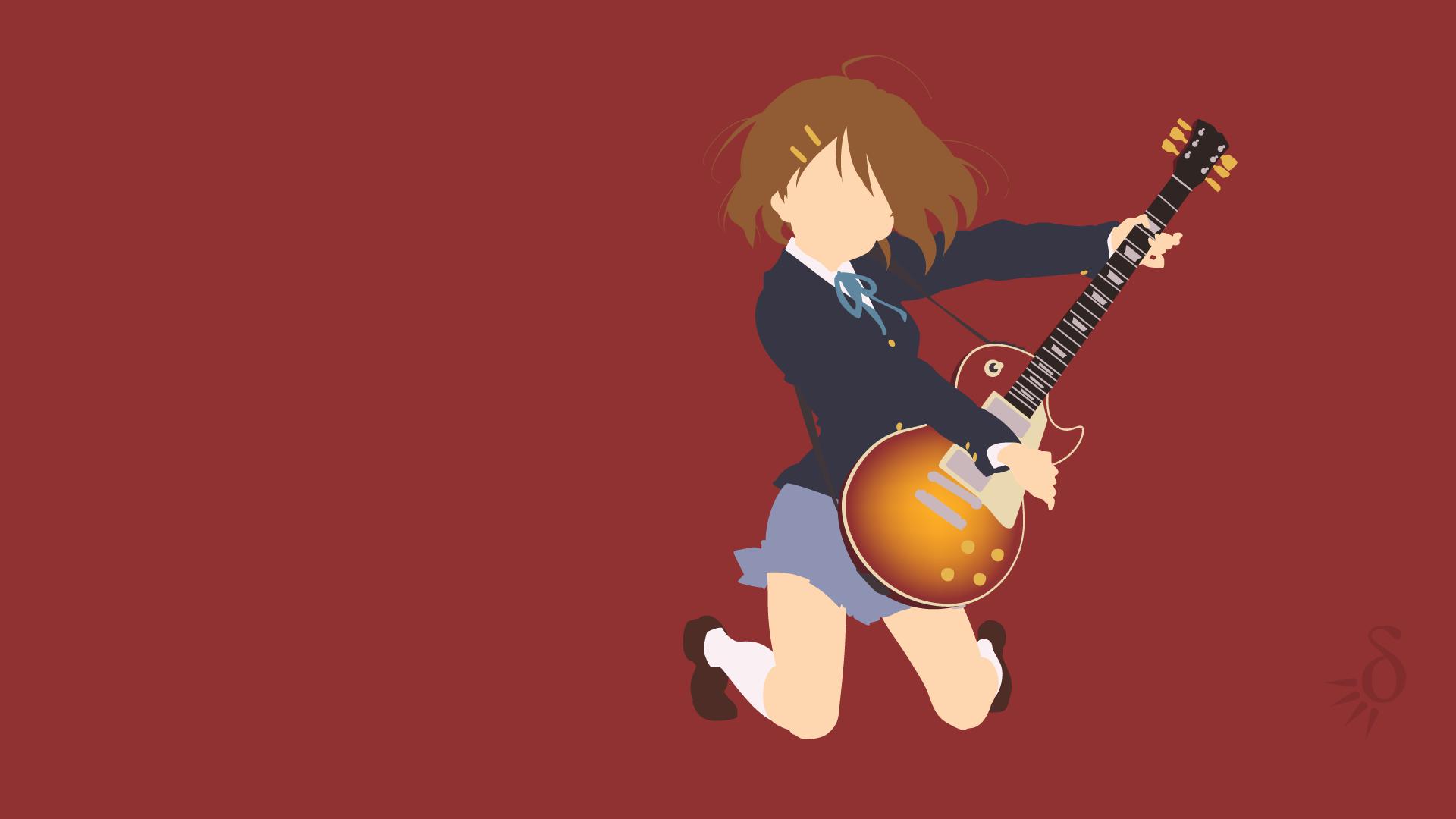 Fondos De Pantalla Ilustración Chicas Anime Guitarra