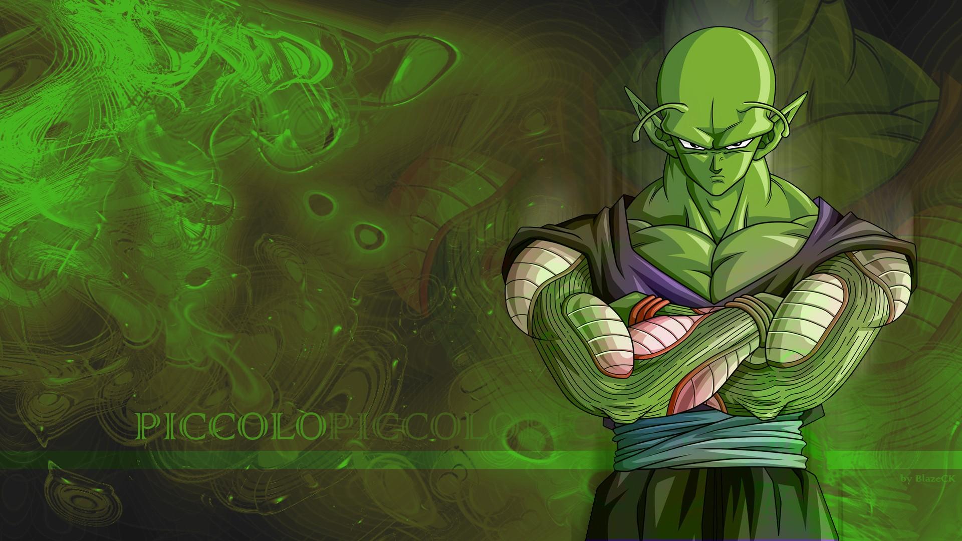 Wallpaper Illustration Anime Green Dragon Ball Z Piccolo