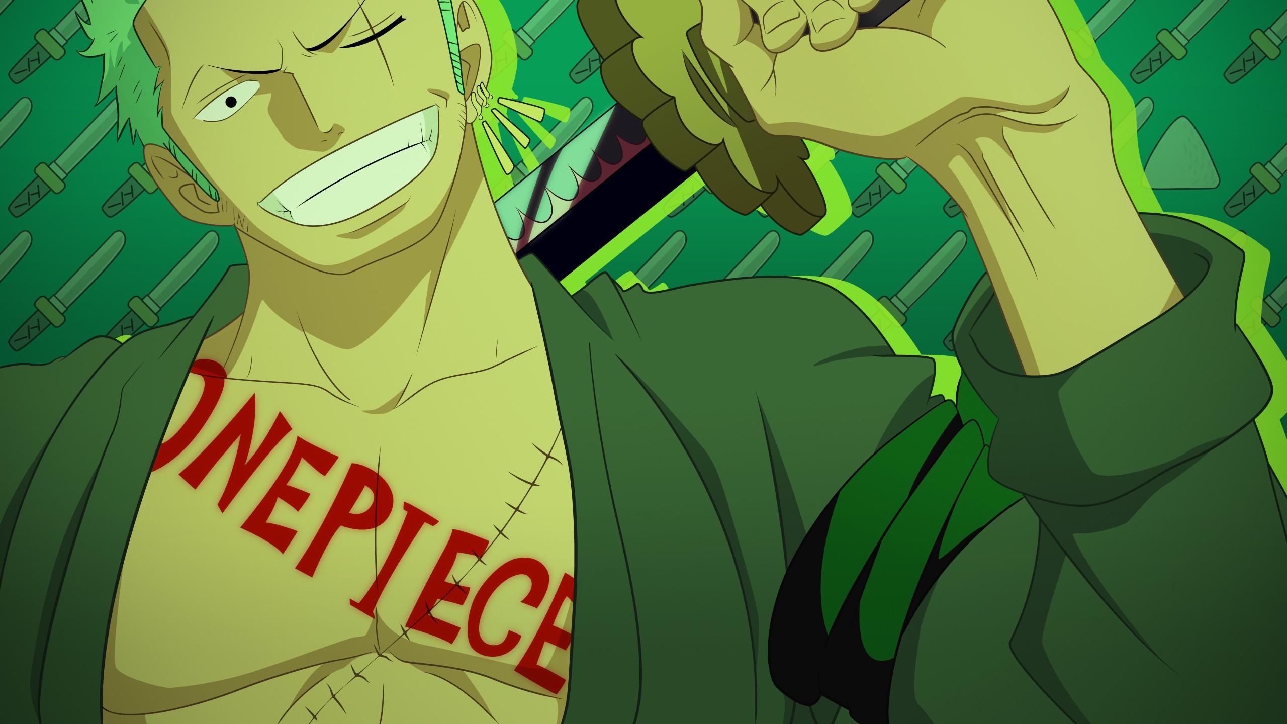 Wallpaper Ilustrasi Anime Hijau Gambar Kartun Satu Potong Roronoa Zoro Screenshot Buku Komik Fiksi 2560x1440 Paranoiddollv2 261869 Hd Wallpapers Wallhere