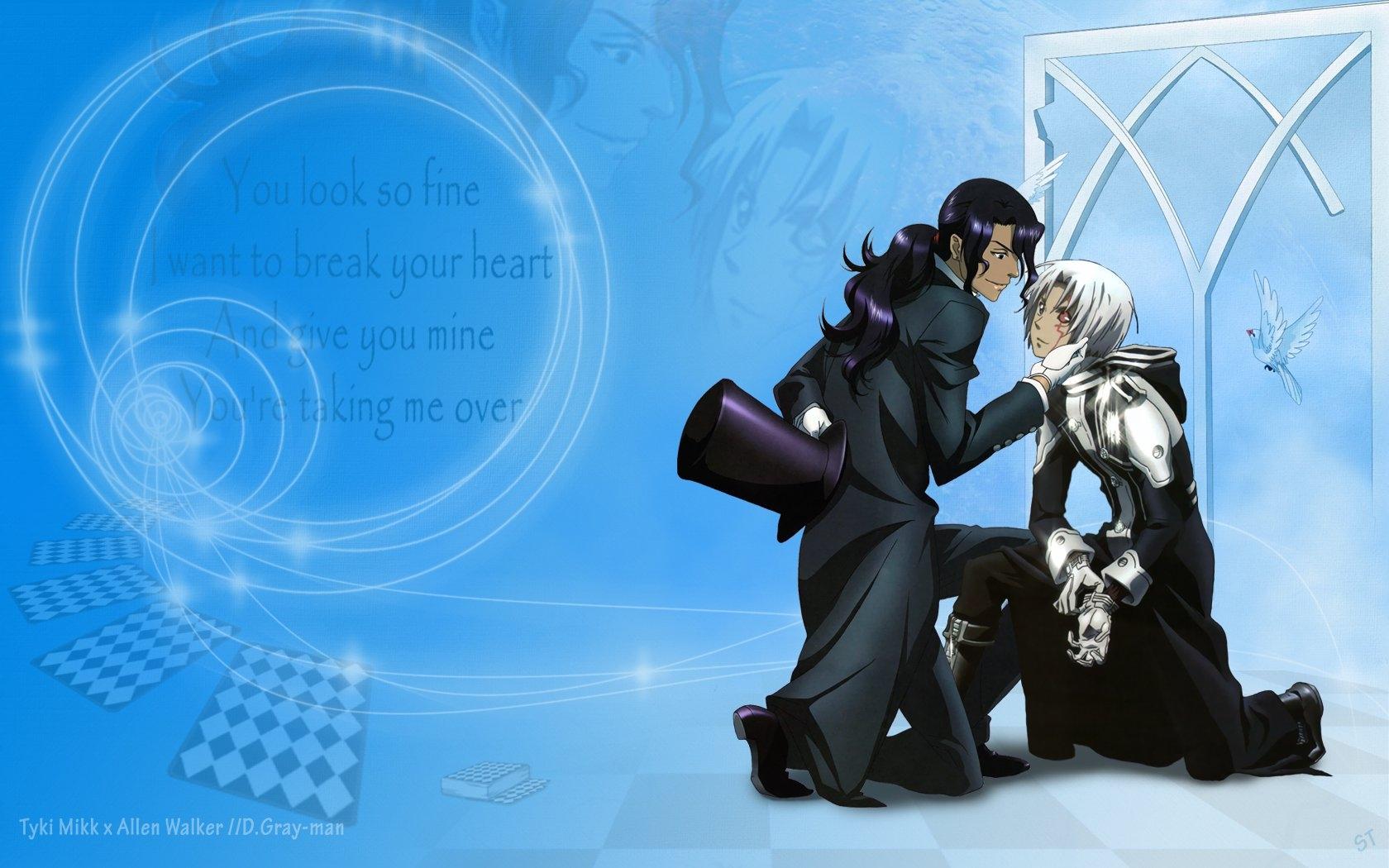 hình minh họa Anime Nón hoạt hình Áo mưa Allen Walker Đàn ông Ảnh chụp màn