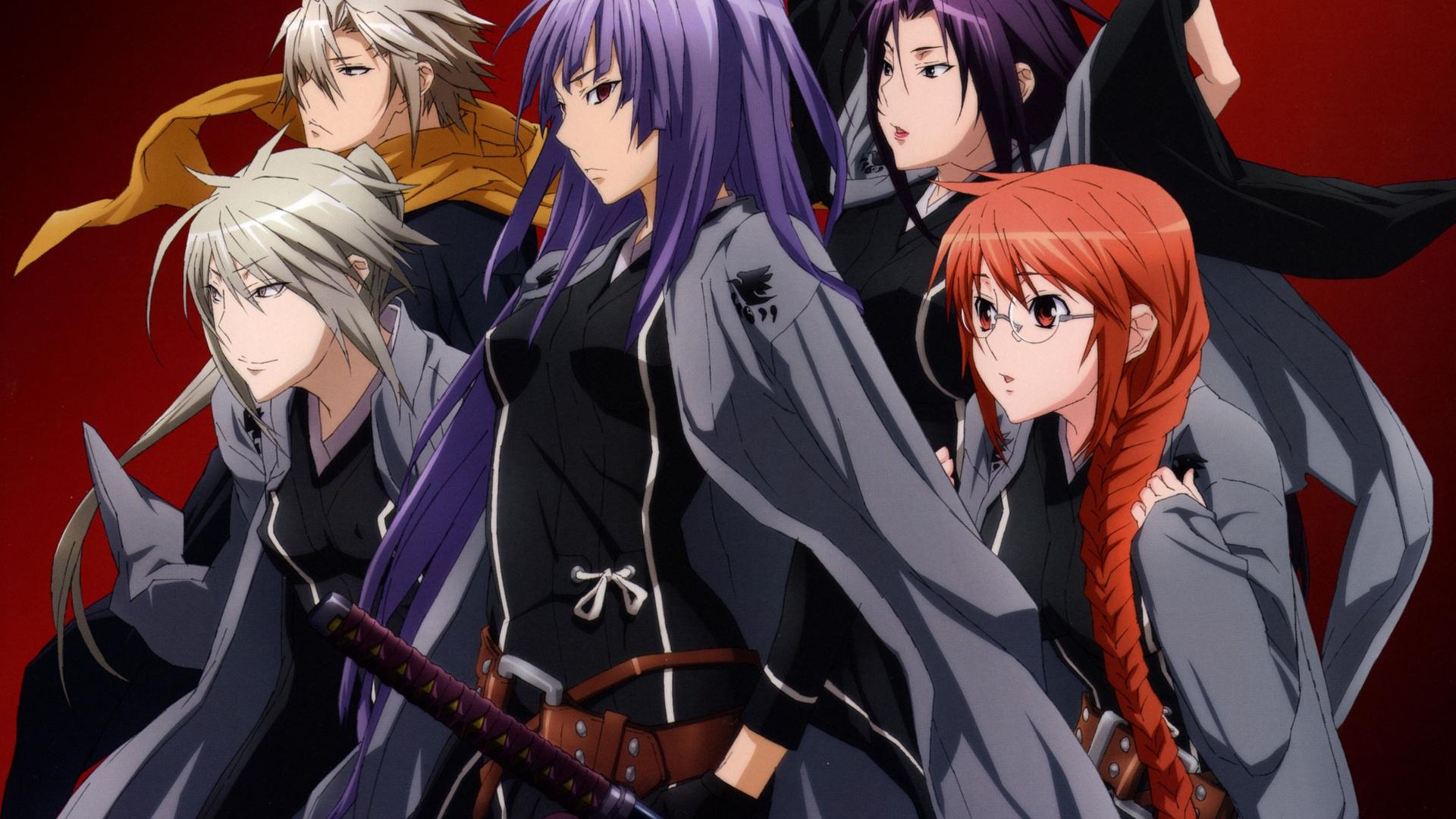 Wallpaper Illustration Anime Katana Sekirei Background