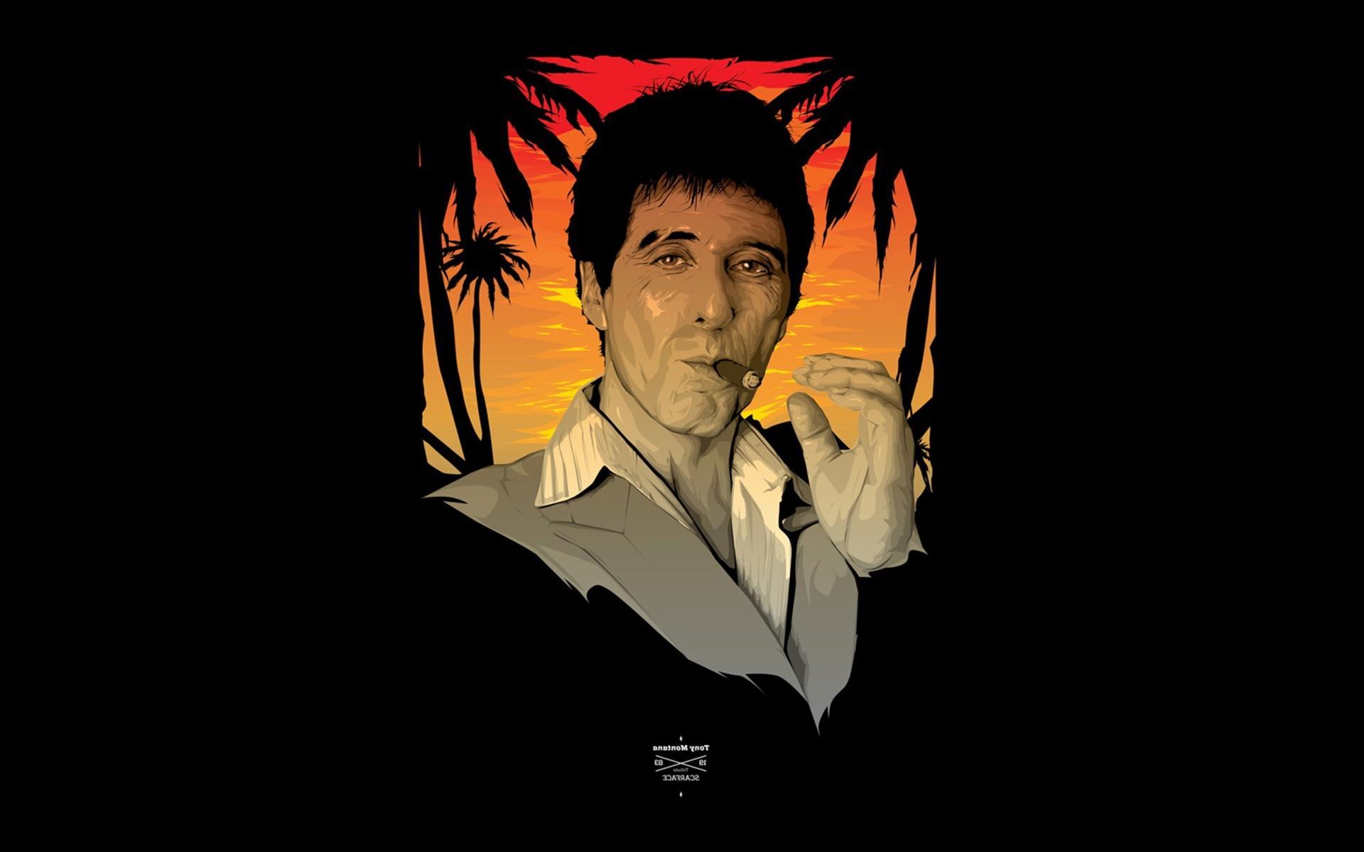 Wallpaper Illustration Anime Movies Fan Art Al Pacino