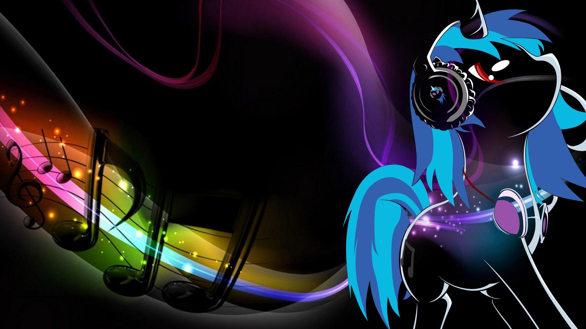 Wallpaper Illustration Anime My Little Pony Dubstep Dj