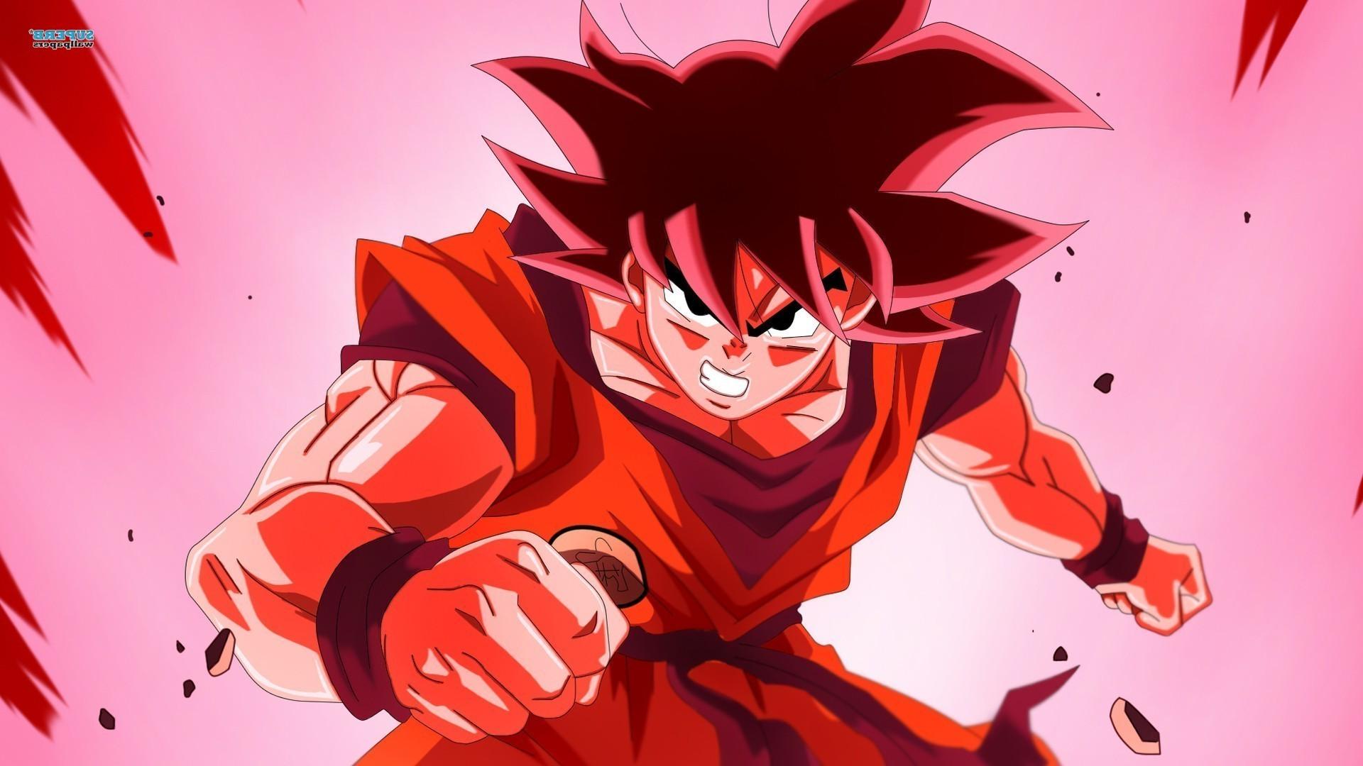 Wallpaper Illustration Anime Red Cartoon Dragon Ball