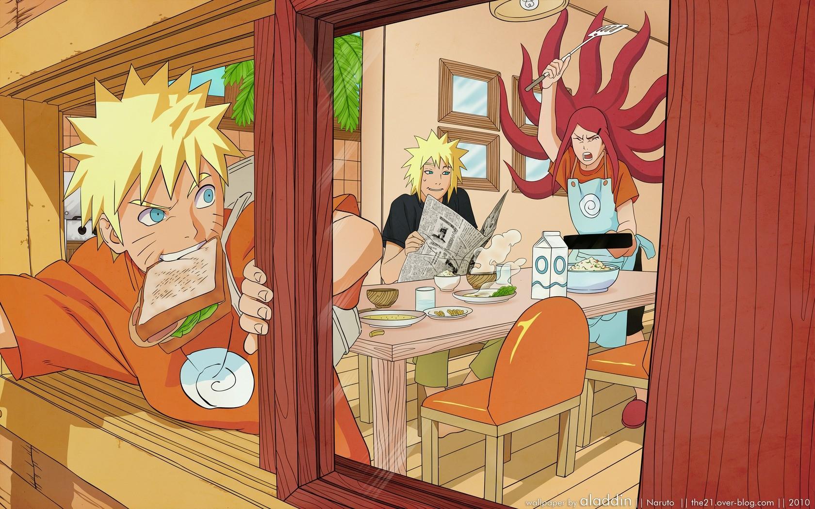 Wallpaper Ilustrasi Anime Kamar Gambar Kartun Naruto