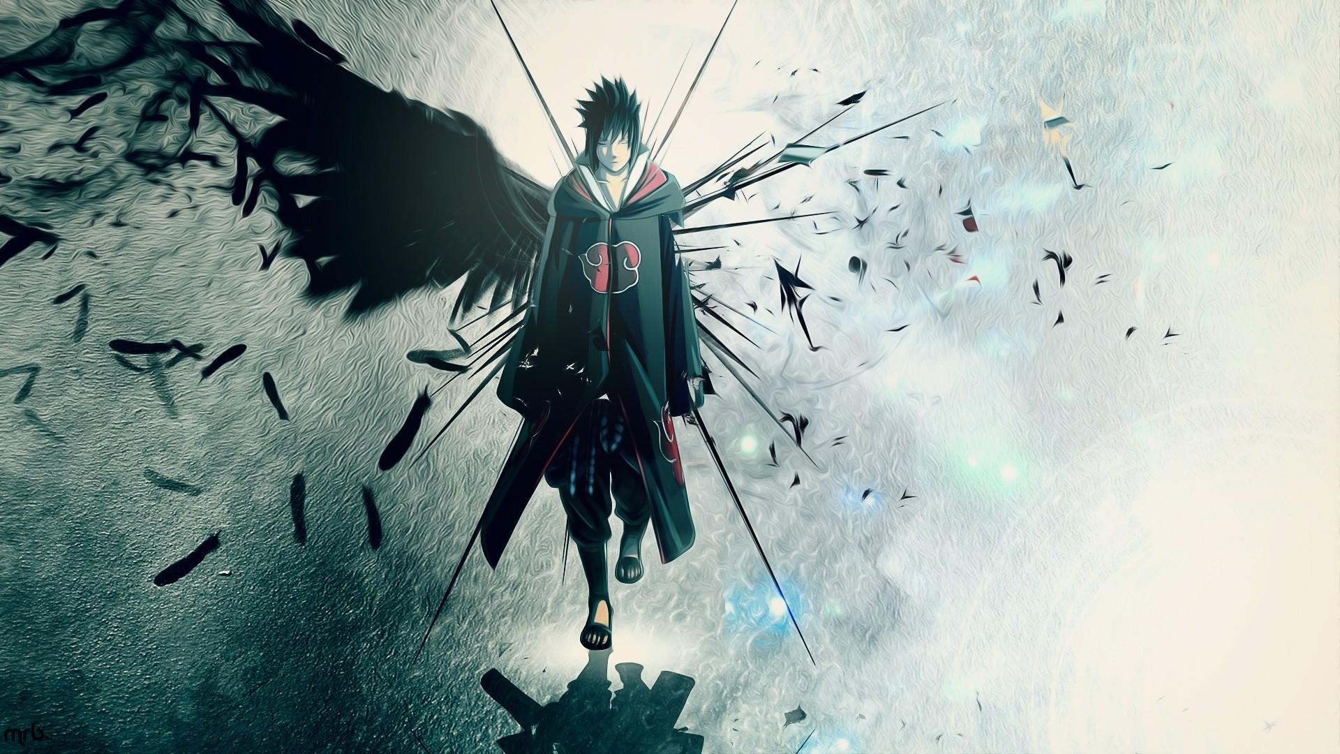 Fond d'écran : illustration, Anime, ciel, ailes ...