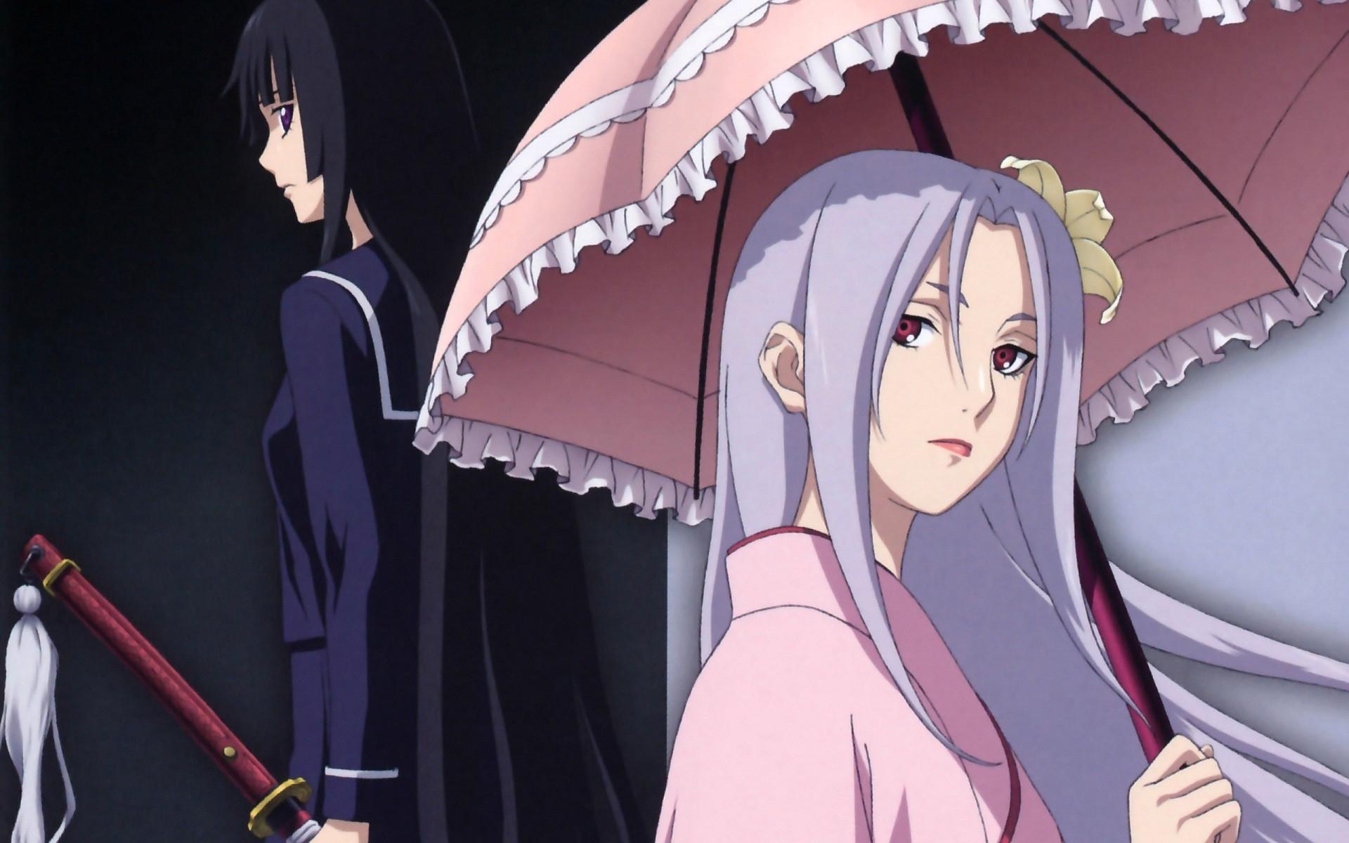 Wallpaper Illustration Anime Umbrella Cartoon Sadness Girls Look Screenshot Mangaka 1920x1200 Wallup 724793 Hd Wallpapers Wallhere
