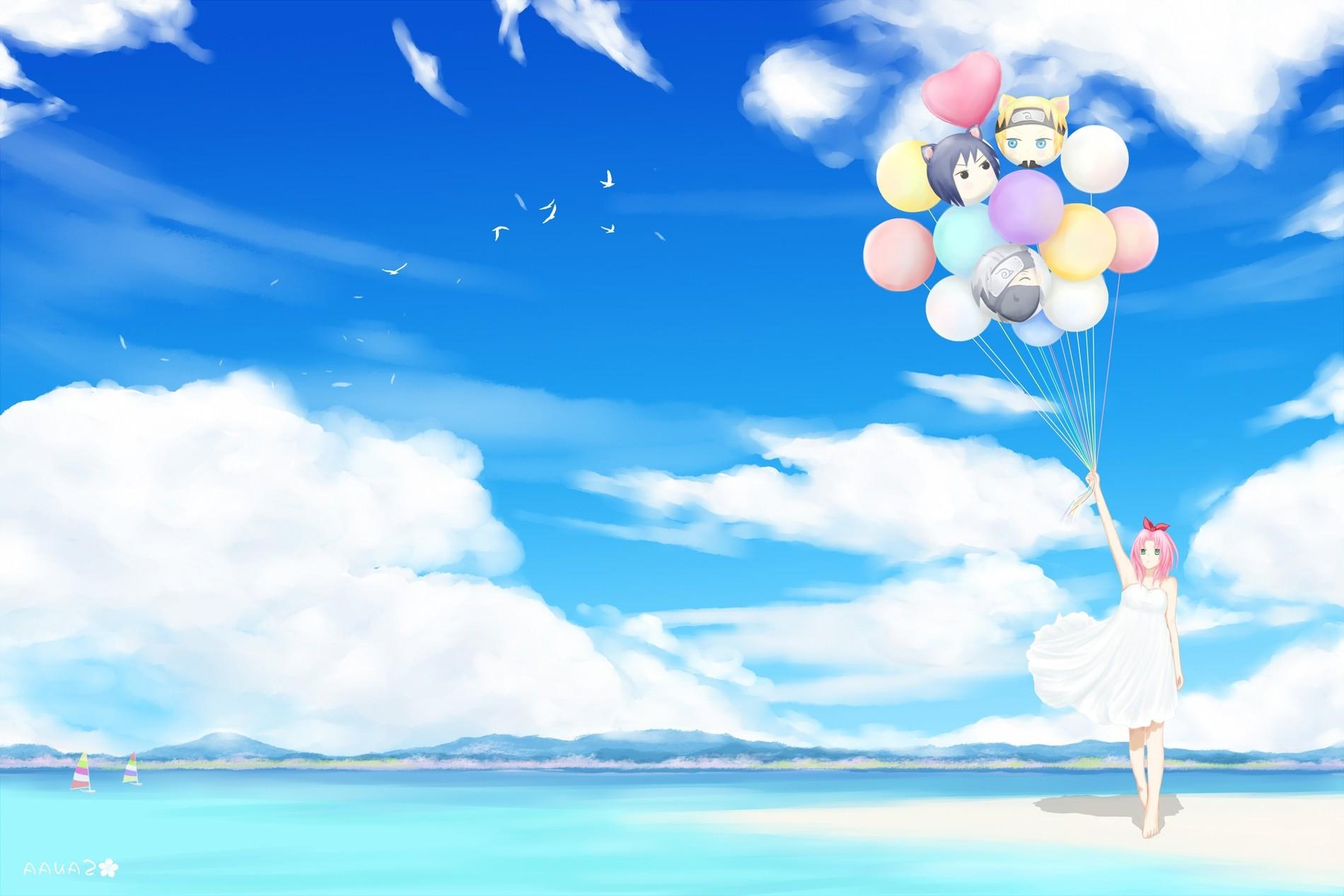 Good Wallpaper Naruto Blue - illustration-birds-anime-sky-clouds-blue-Naruto-Shippuuden-wind-Haruno-Sakura-Toy-cloud-flower-balloons-computer-wallpaper-1900x1267-px-586365  HD_371956.jpg