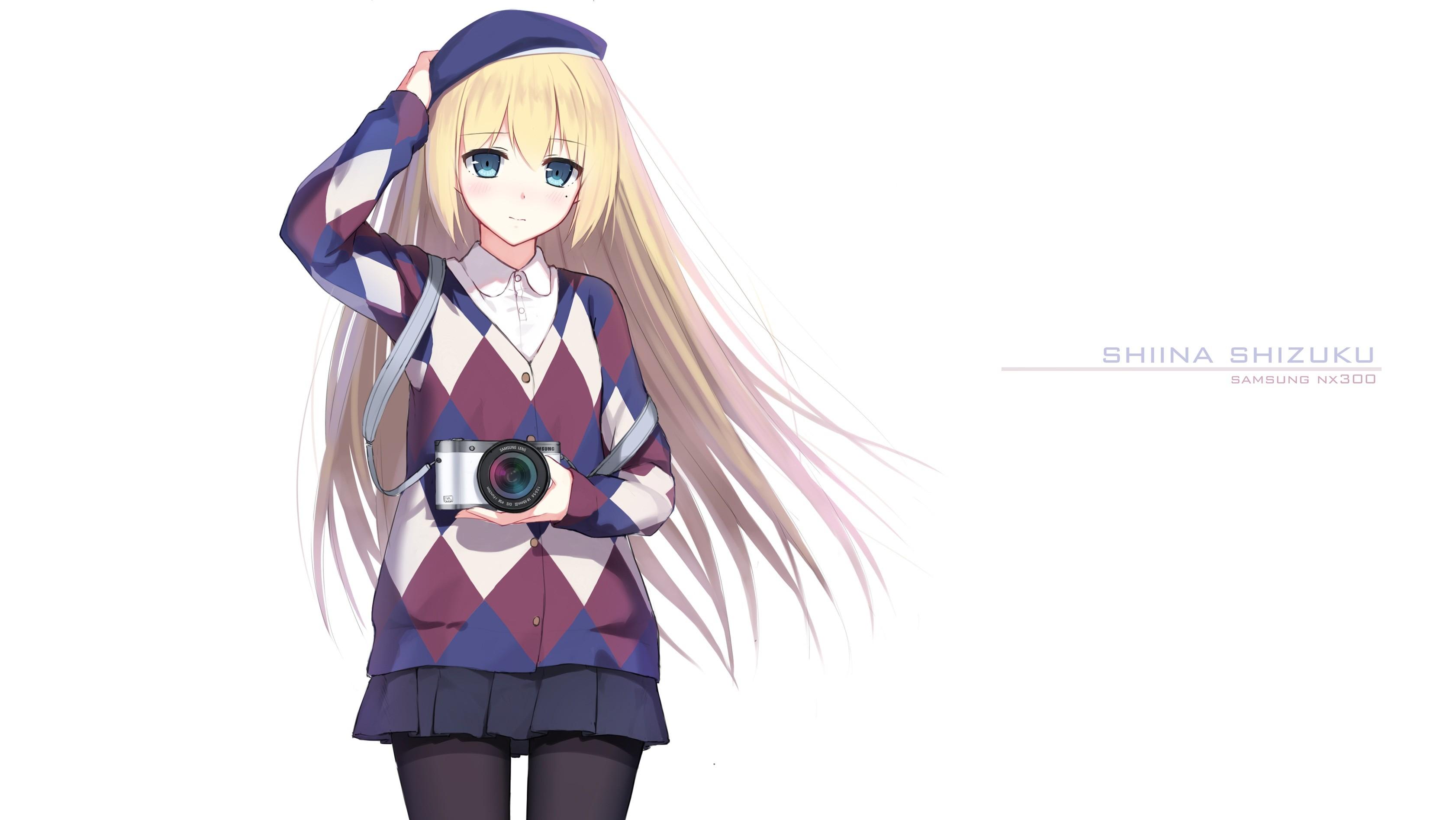 Wallpaper Illustration Blonde Anime Girls Shiina Shizuku Camera Samsung Cartoon Costume Sketch Mangaka 3364x1896 Kejsirajbek 386 Hd Wallpapers Wallhere