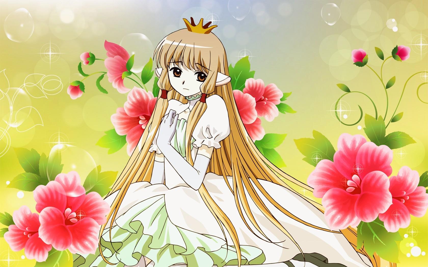 93 Gambar Gambar Anime Bunga Paling Menarik