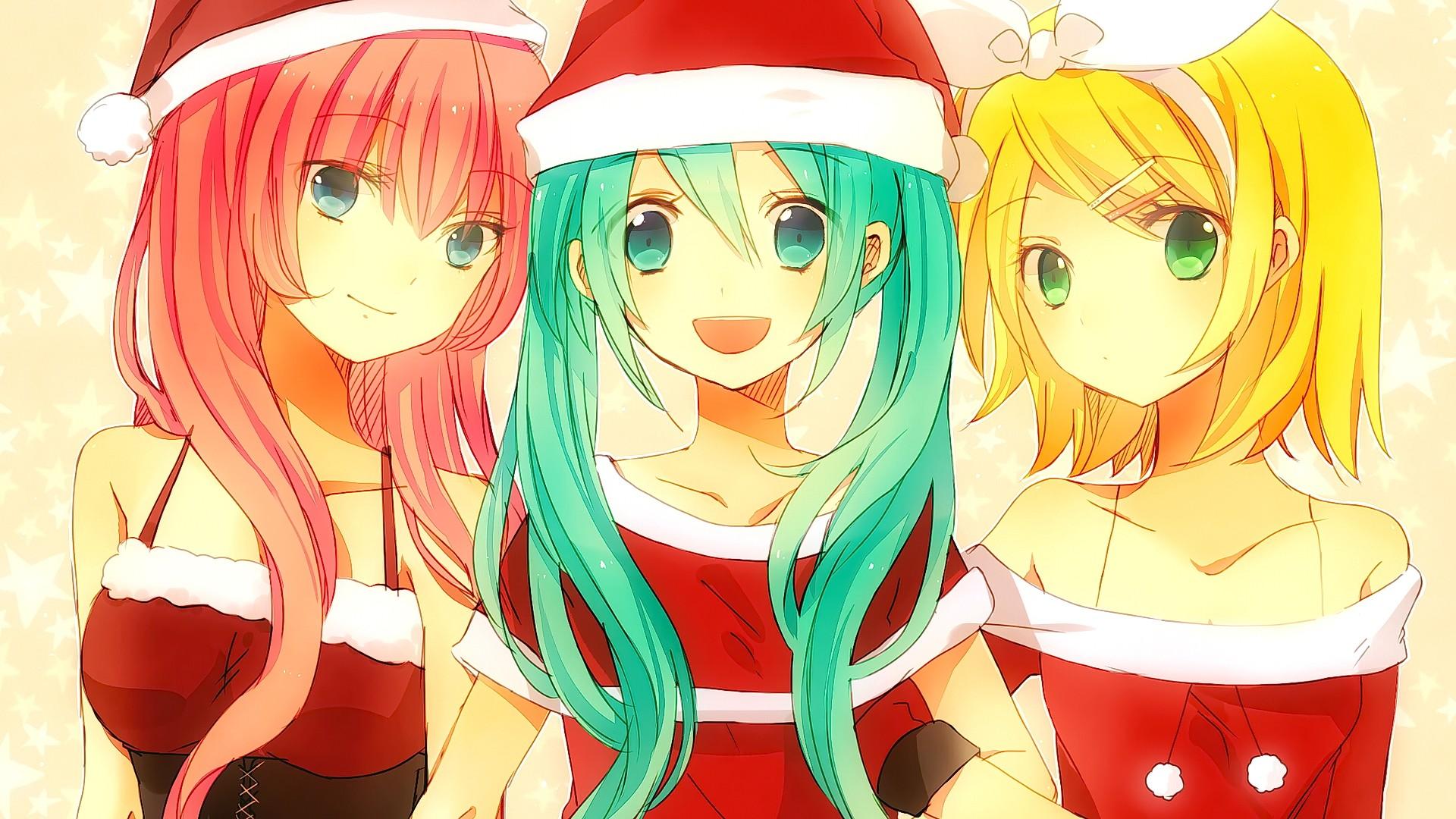 Wallpaper Illustration Blonde Long Hair Anime Girls Blue Eyes