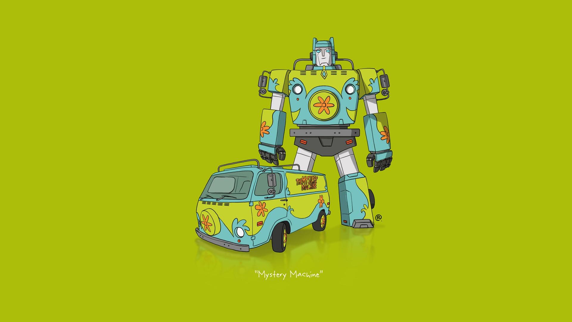 illustration voiture minimalisme vhicule transformers dessin anim scooby doo jouet machine 1920x1080 px produit - Dessin Anim Scooby Doo