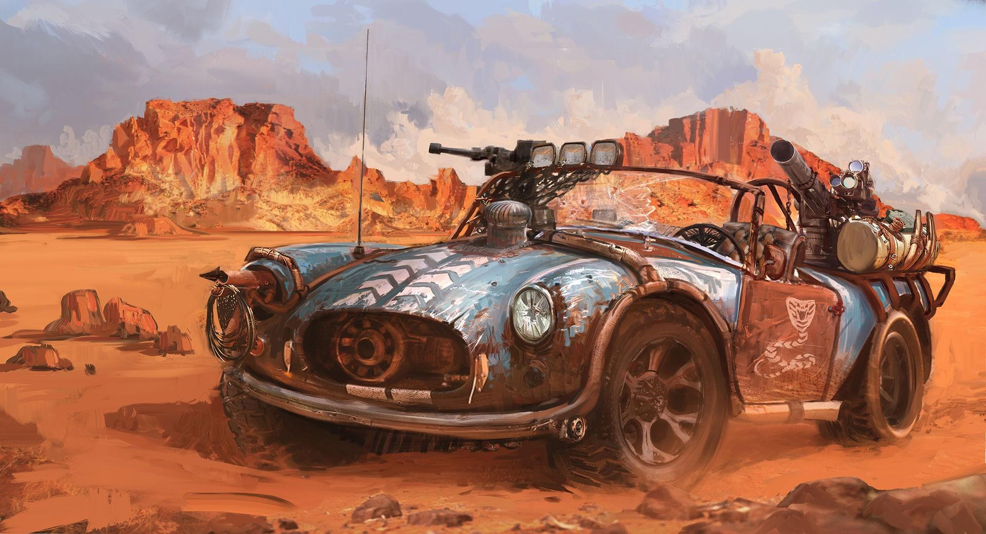 красивые картинки фэнтези автомобили первого
