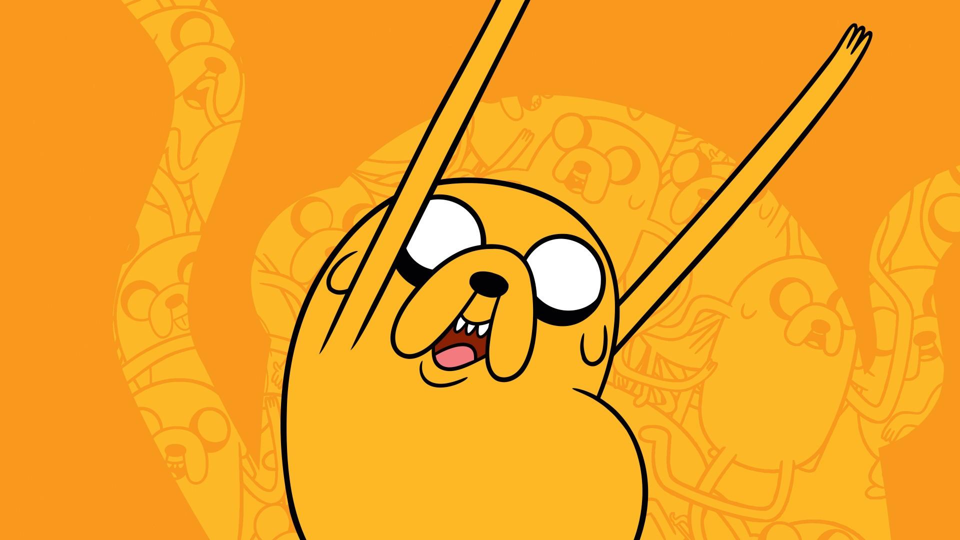 Wallpaper : illustration, cartoon, Adventure Time, Jake the Dog ...