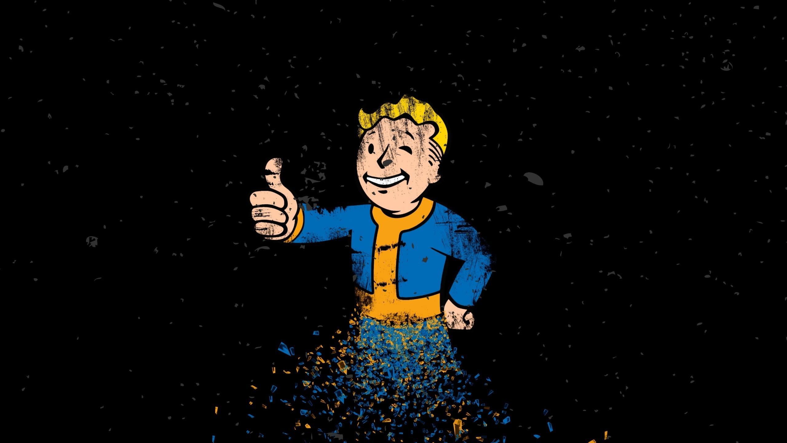 Simple Wallpaper Logo Fallout 4 - illustration-cartoon-Fallout-Fallout-4-Vault-Boy-darkness-screenshot-computer-wallpaper-album-cover-75486  Graphic_39486.jpg