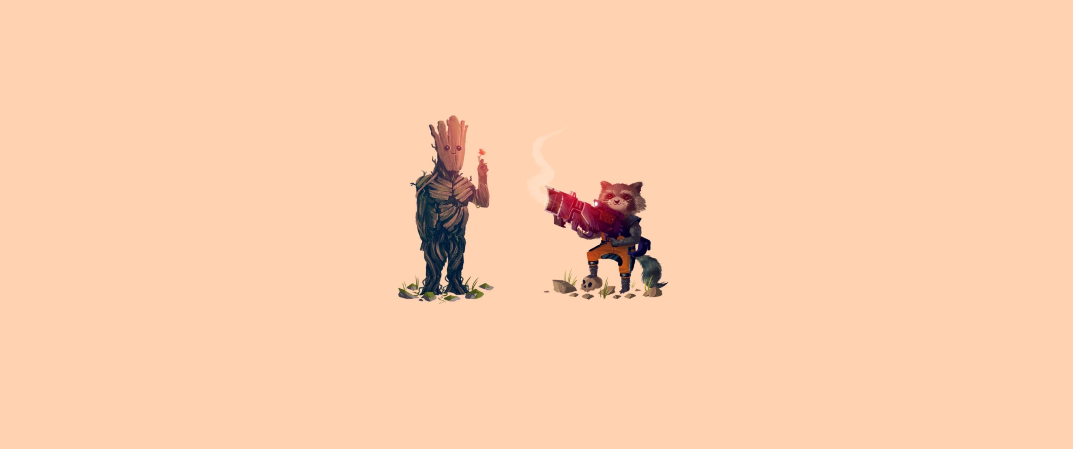 Sfondi : illustrazione cartone animato guardiani della galassia