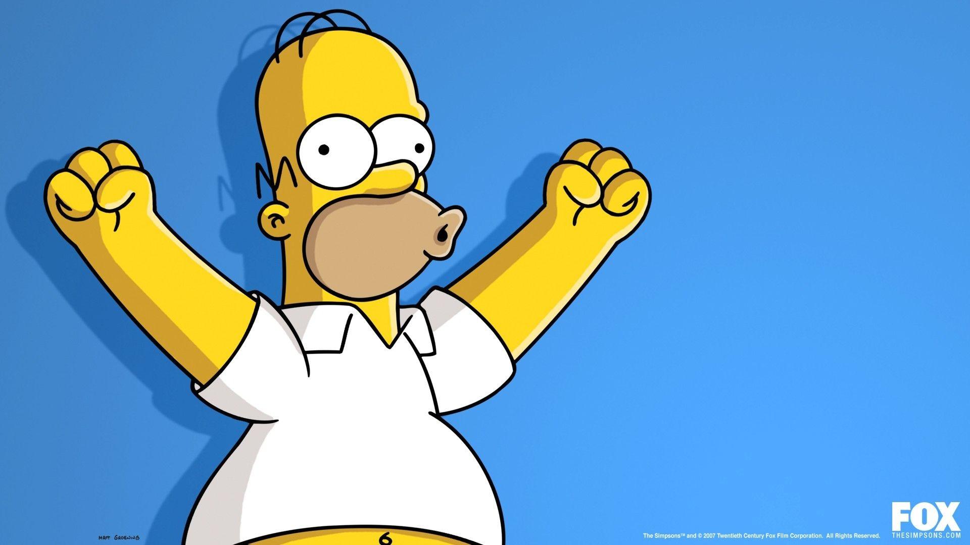 Fond D écran Illustration Dessin Animé Homer Simpson