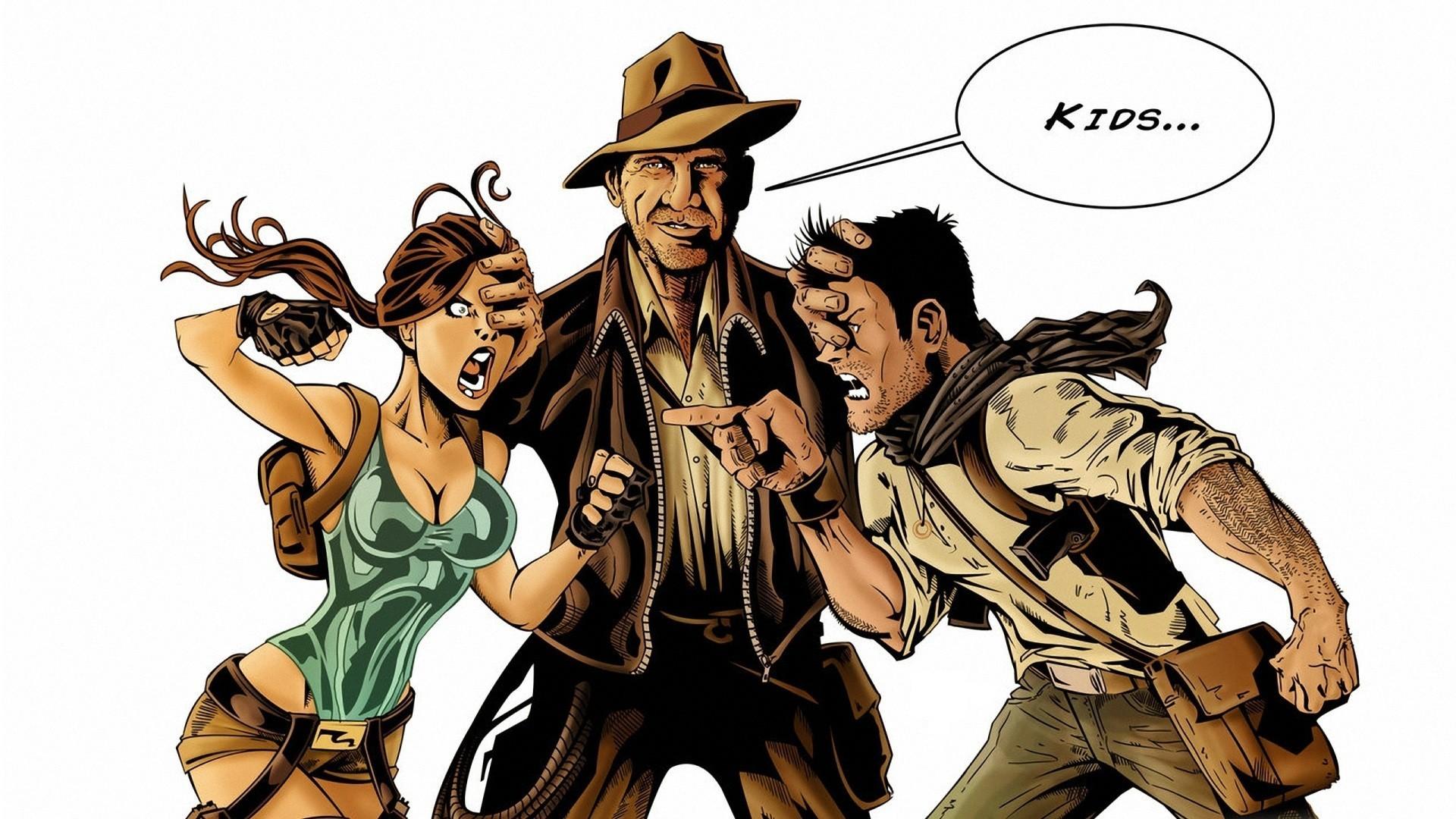 Indiana Jones Tomb Raider 1920x1080 Px