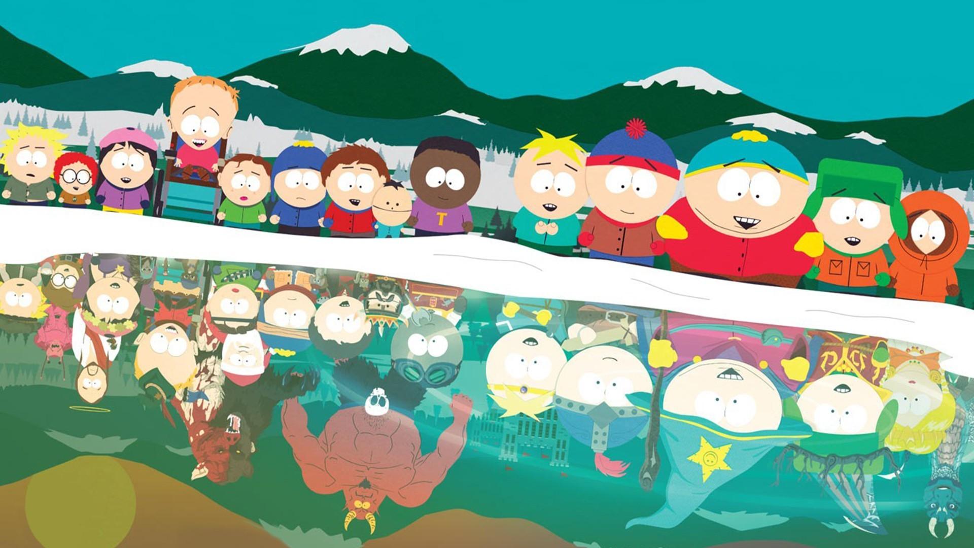 Wallpaper Ilustrasi Gambar Kartun South Park Stick Of Truth