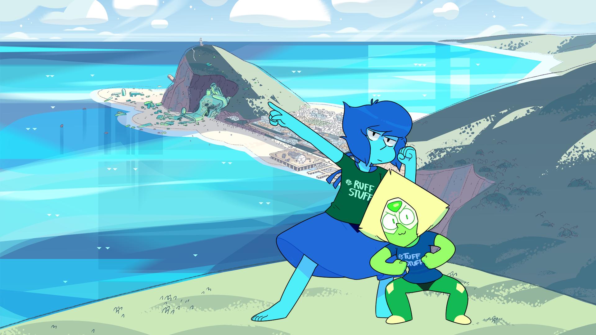 Steven Universe Peridot Lapis Lazuli
