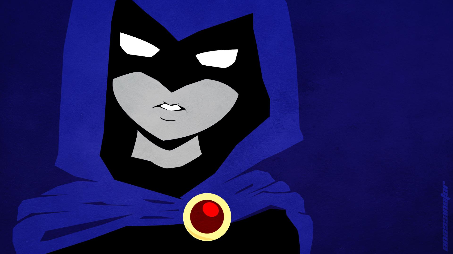 Wallpaper Illustration Cartoon Teen Titans Raven Character