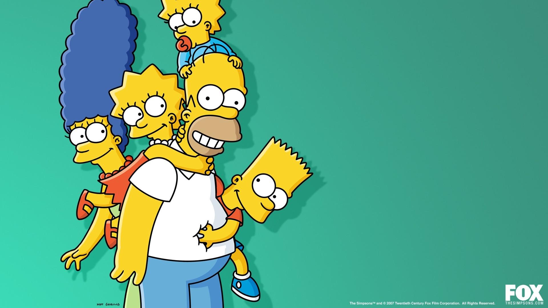 Simpsonovi kreslené obrázky