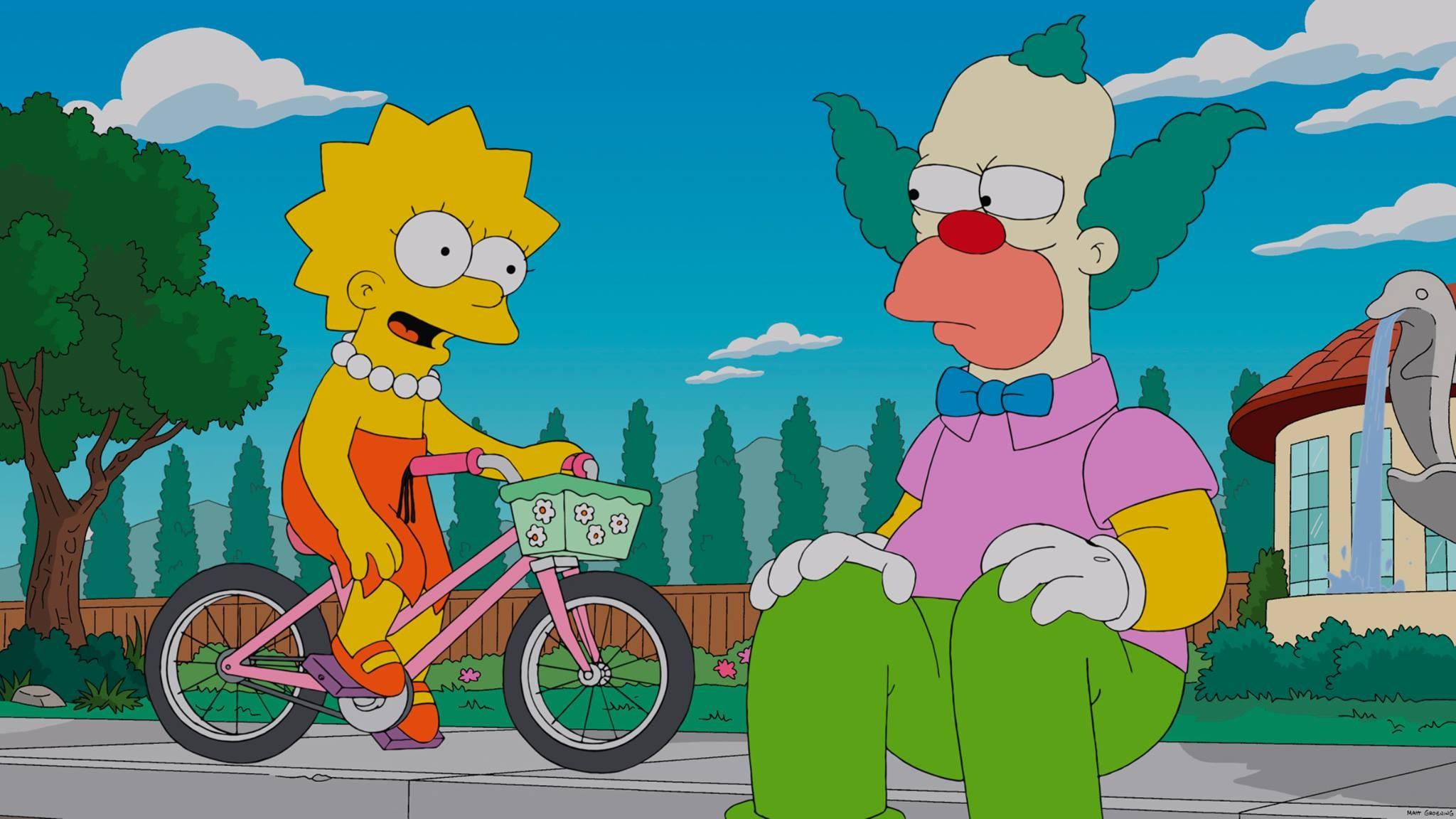Fond D écran Illustration Dessin Animé Les Simpsons