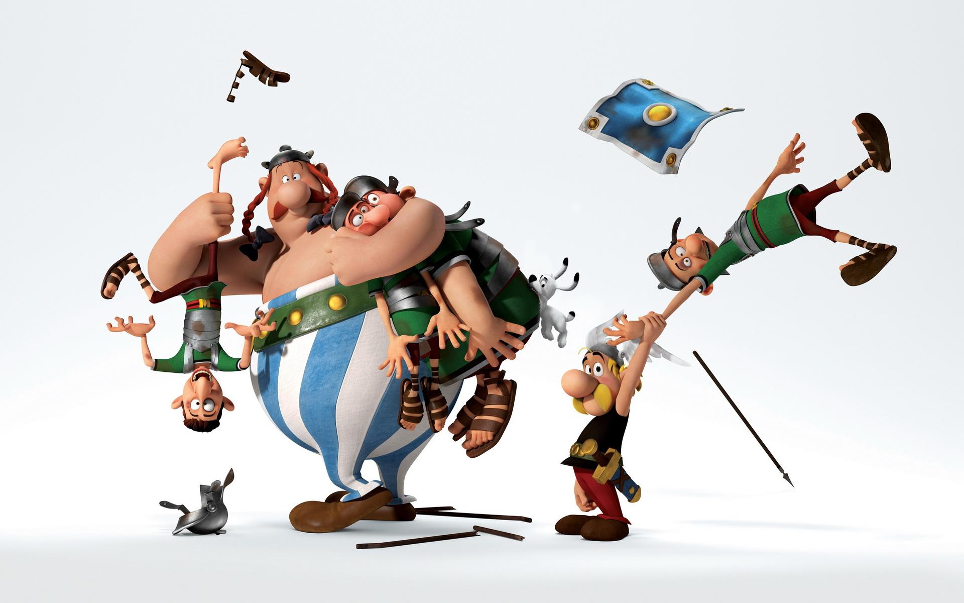 Fond D Ecran Illustration Dessin Anime Jouet 2015 Asterix