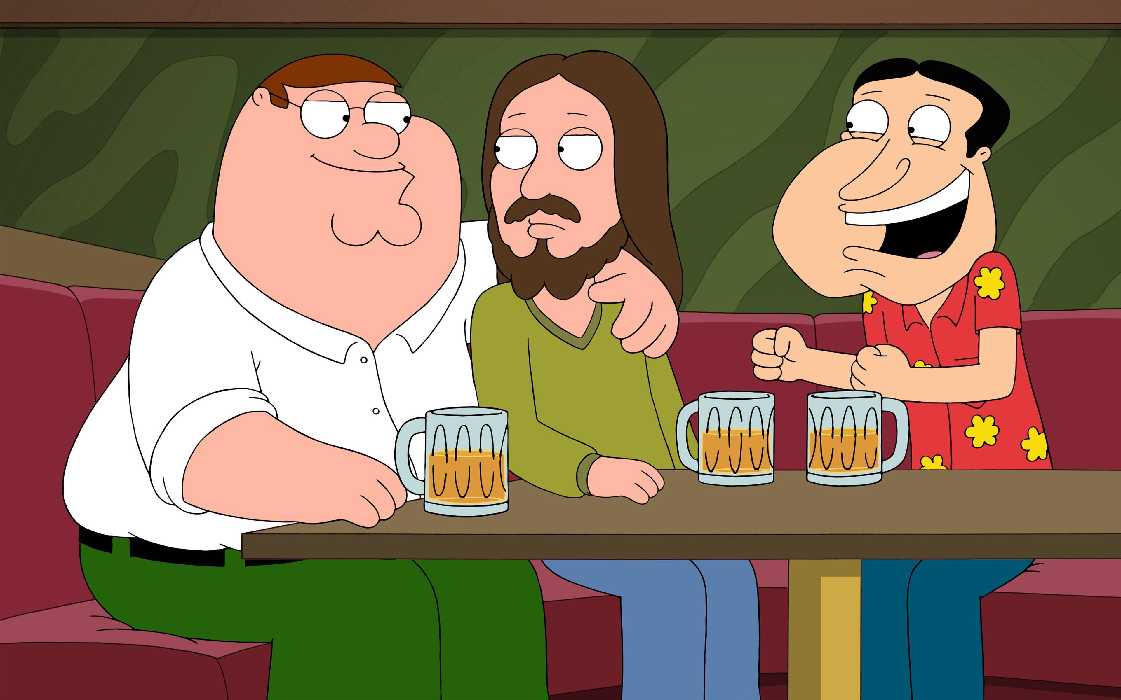 Sfondi : illustrazione cartone animato birra i fumetti gesù