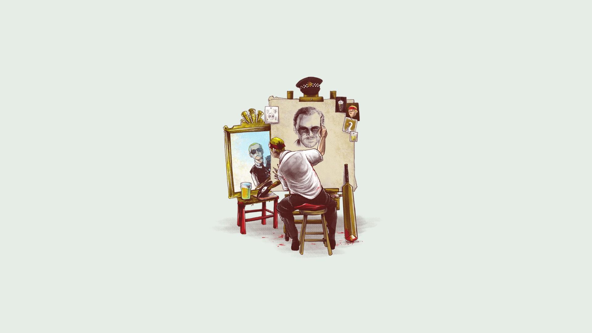 Wallpaper Illustration Cartoon Brand Hot Fuzz Shaun Of