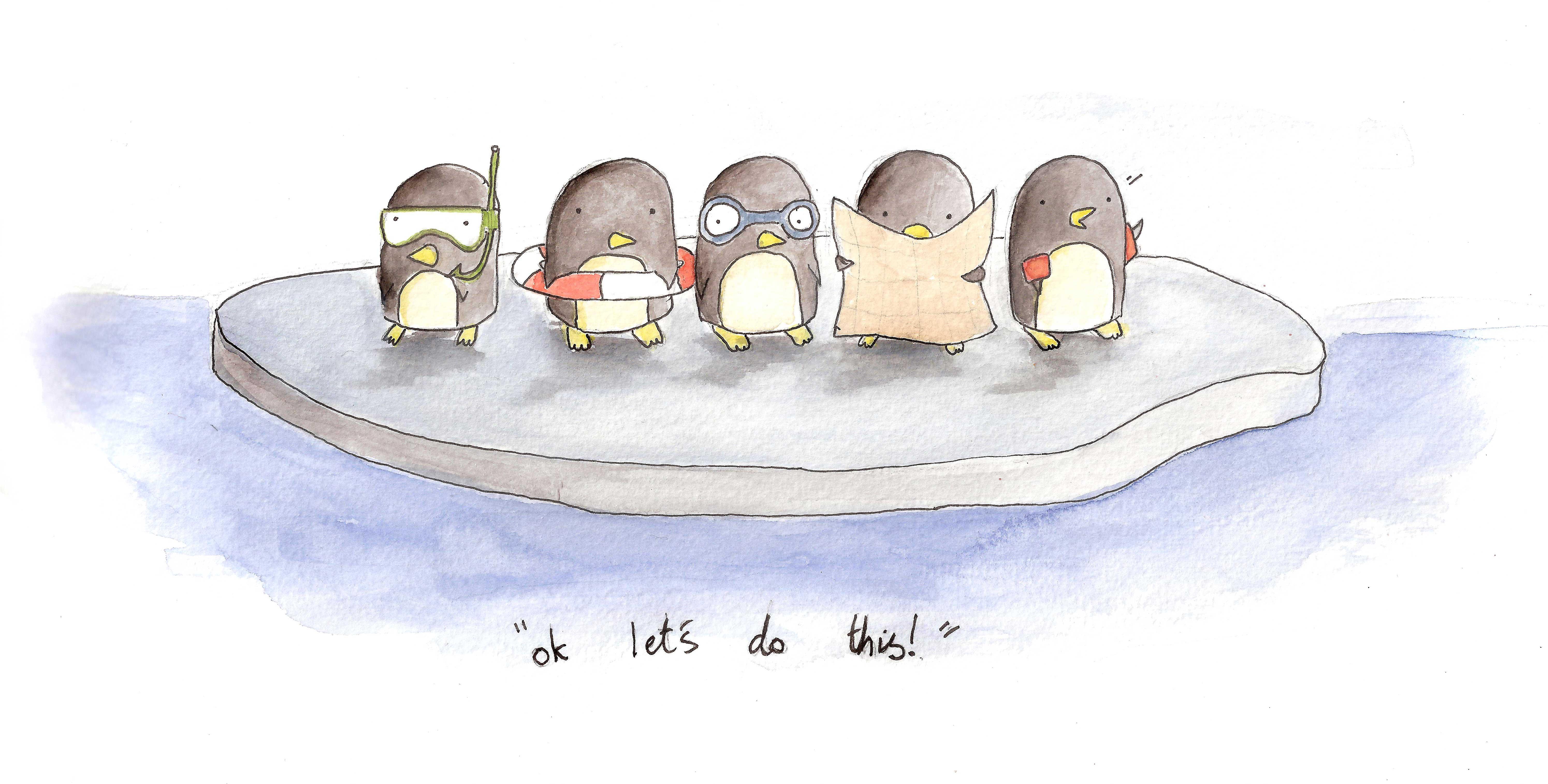 пейрони пингвины забавные картинки рисунки жирности используемой