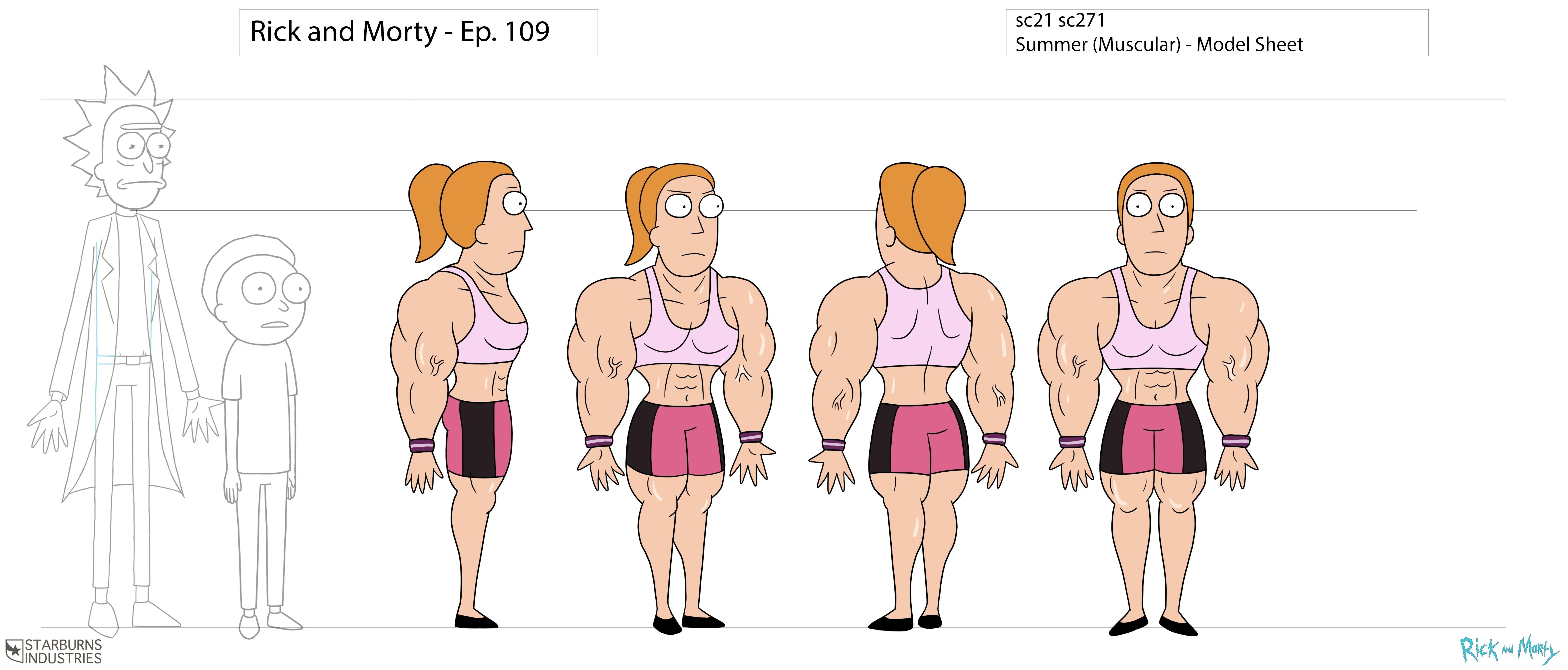 Fondos de pantalla : ilustración, dibujos animados, Moda, Rick y ...
