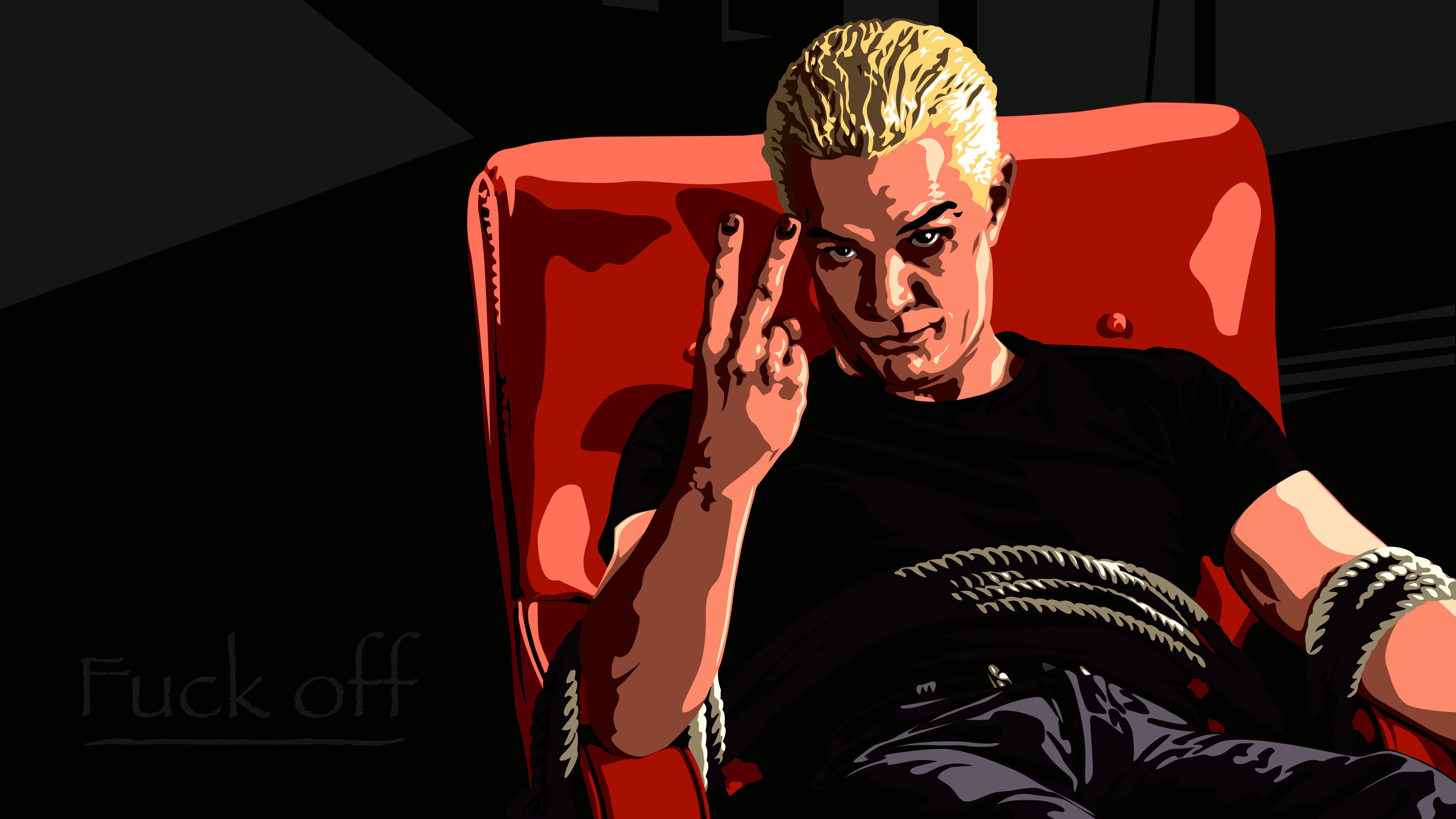 Wallpaper Illustration Cartoon Vampires Guitarist Spike