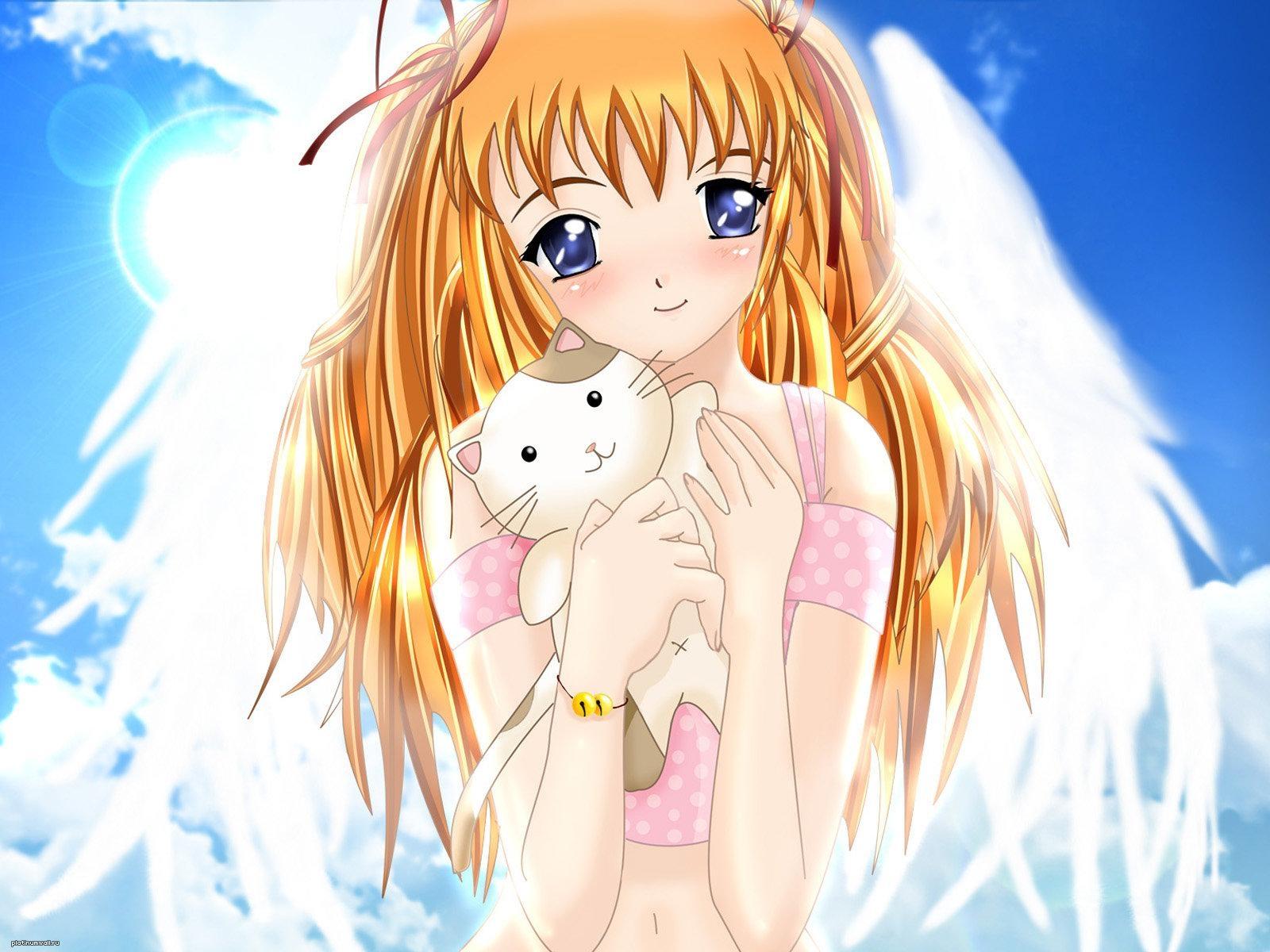 Вторник добрым, прикольные красивые картинки аниме девушек