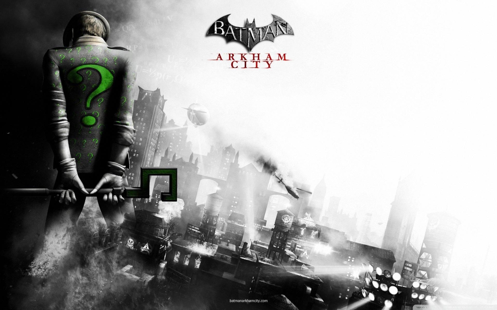 wallpaper : illustration, city, batman arkham city, back, screenshot