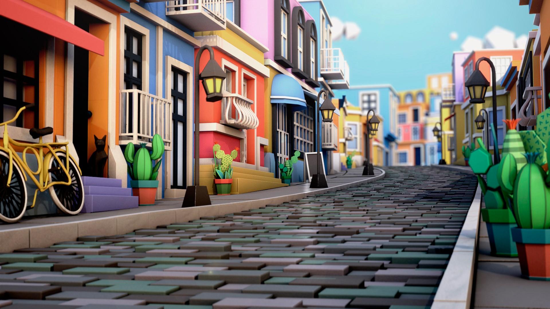 Картинки веселого города