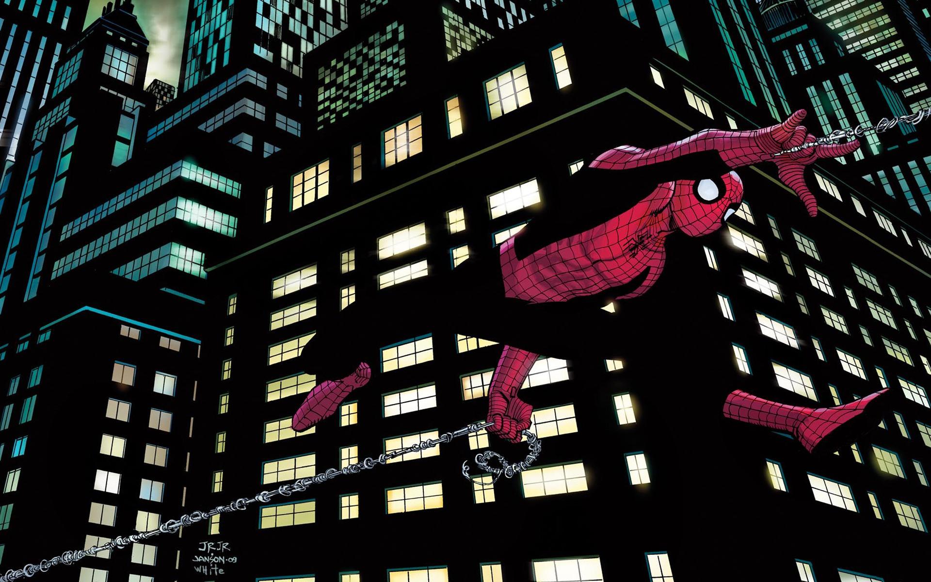 Wallpaper : illustration, cityscape, skyscraper, superhero, Marvel