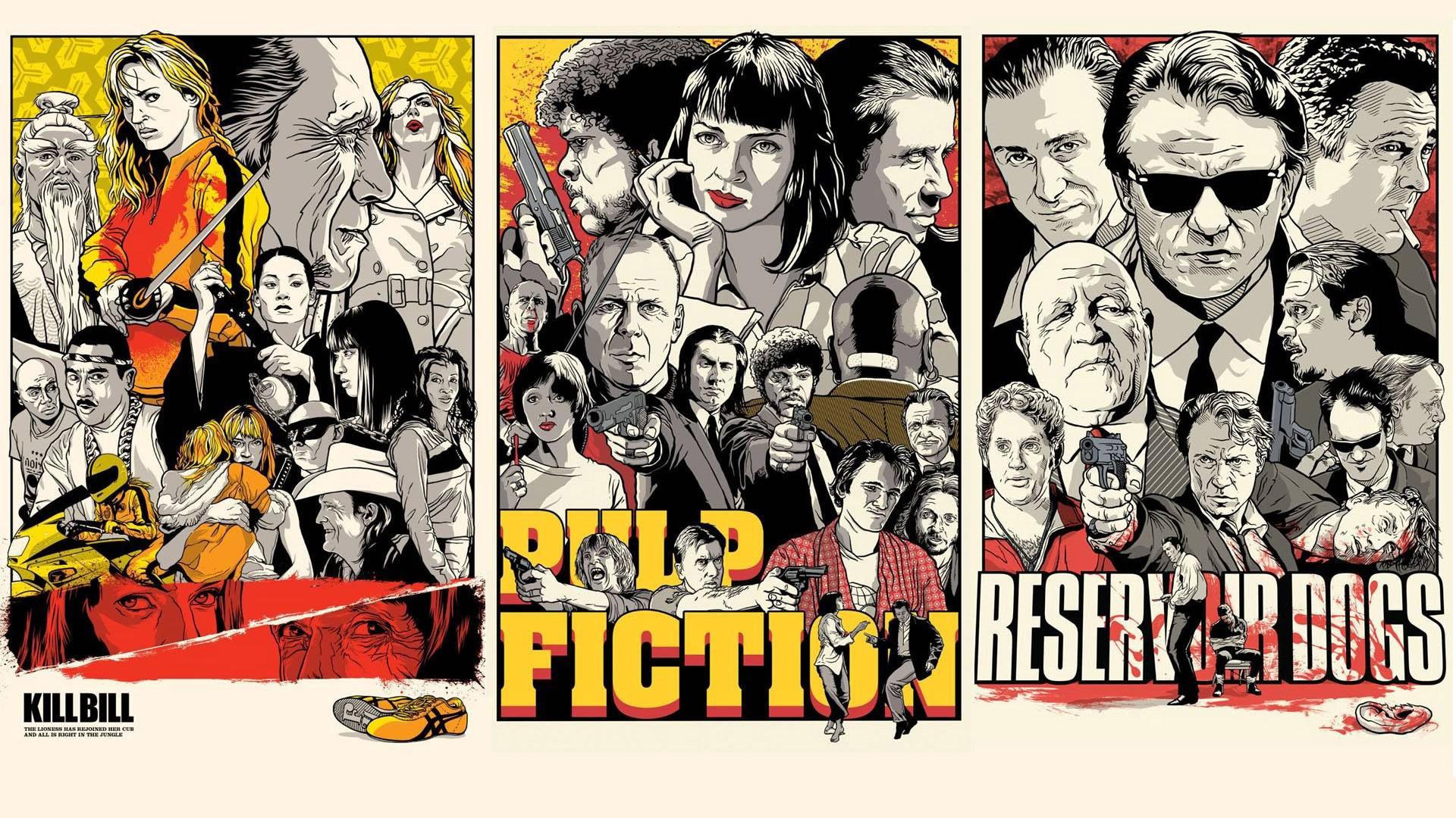 Fantastic Wallpaper Movie Collage - illustration-collage-cartoon-Pulp-Fiction-comics-poster-Quentin-Tarantino-Kill-Bill-Reservoir-Dogs-ART-album-cover-comic-book-photomontage-576800  Photograph_74421.jpg