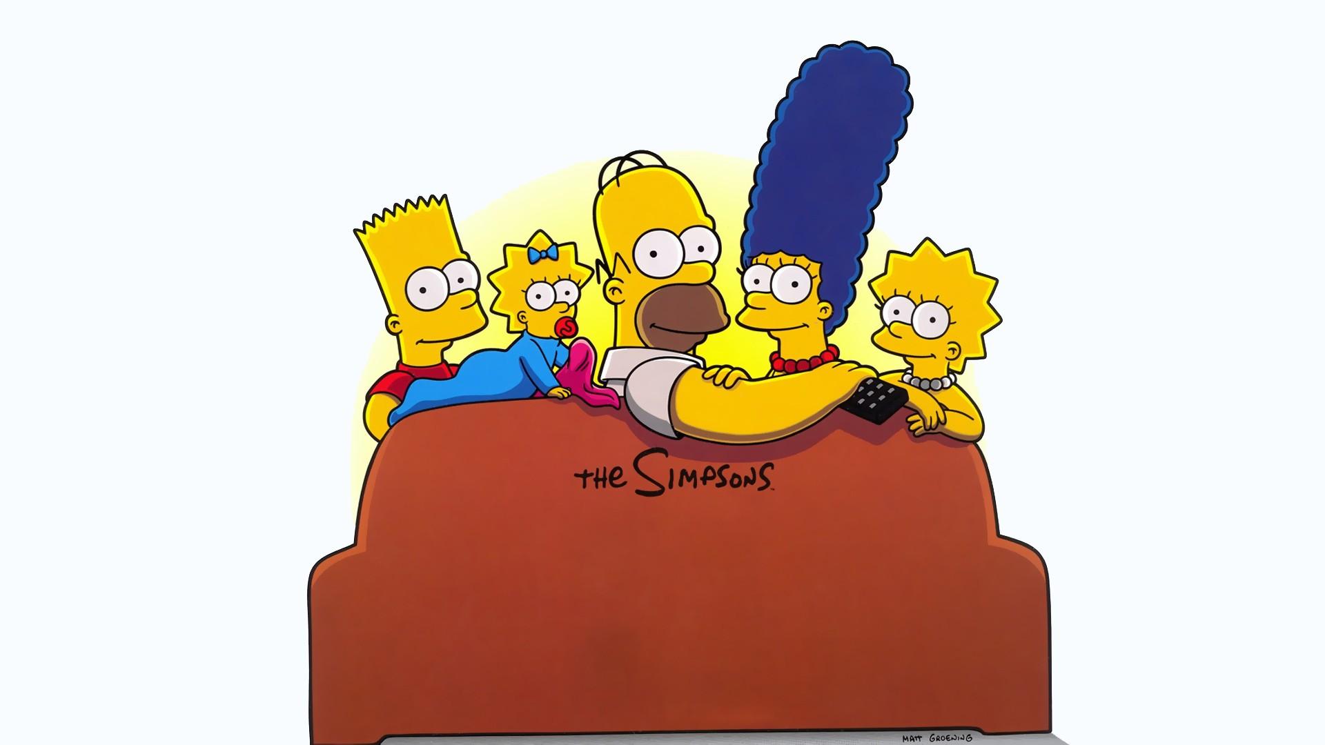 cartone animato sesso foto Simpson