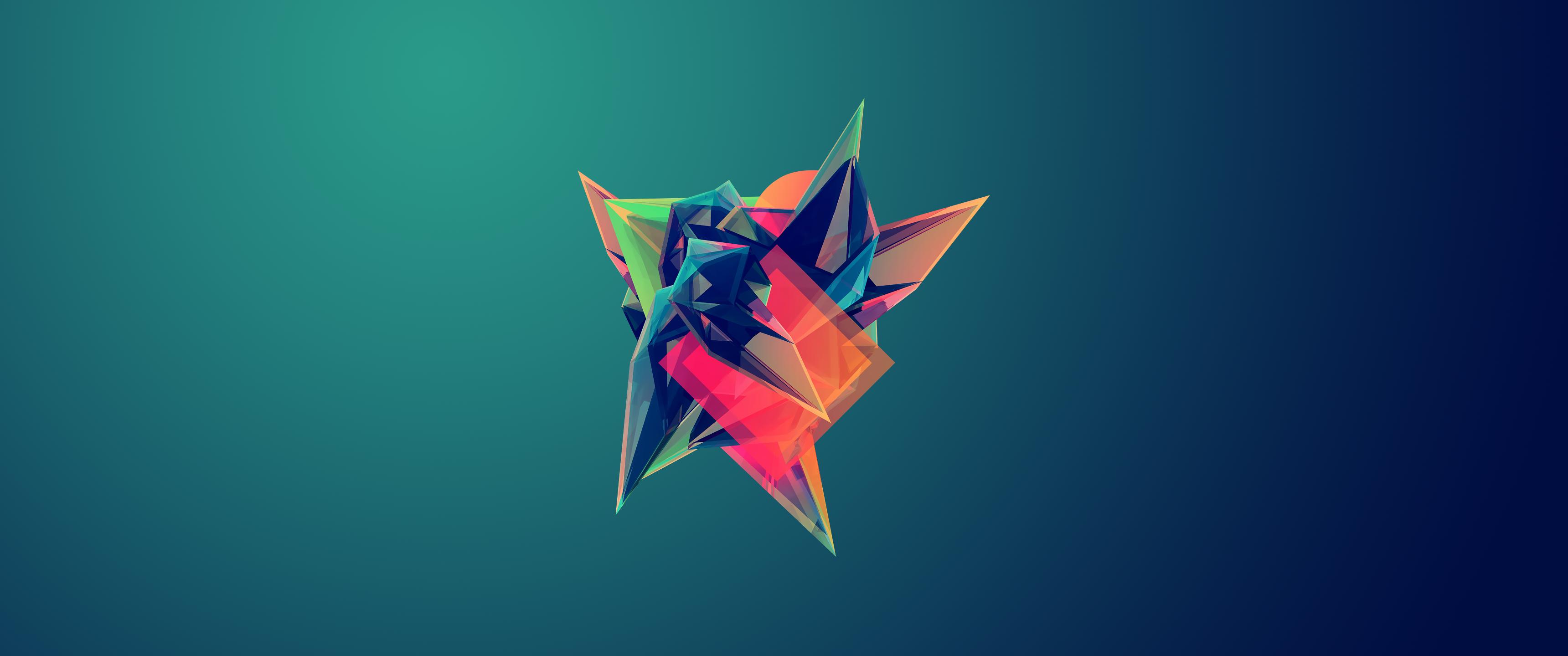 Wallpaper Illustration Digital Art Abstract 3d