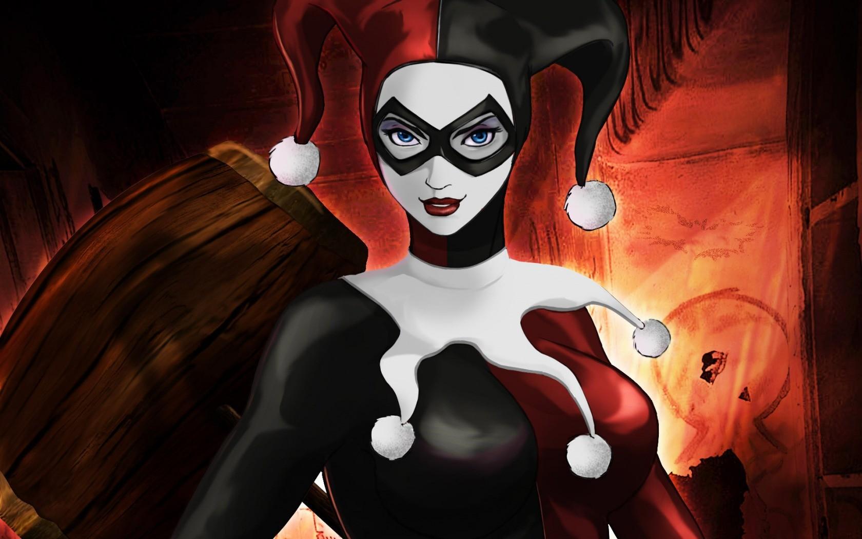 Most Inspiring Wallpaper Halloween Batman - illustration-digital-art-anime-red-Batman-Joker-DC-Comics-Harley-Quinn-comics-darkness-screenshot-computer-wallpaper-fictional-character-fiction-138055  Graphic_55426.jpg