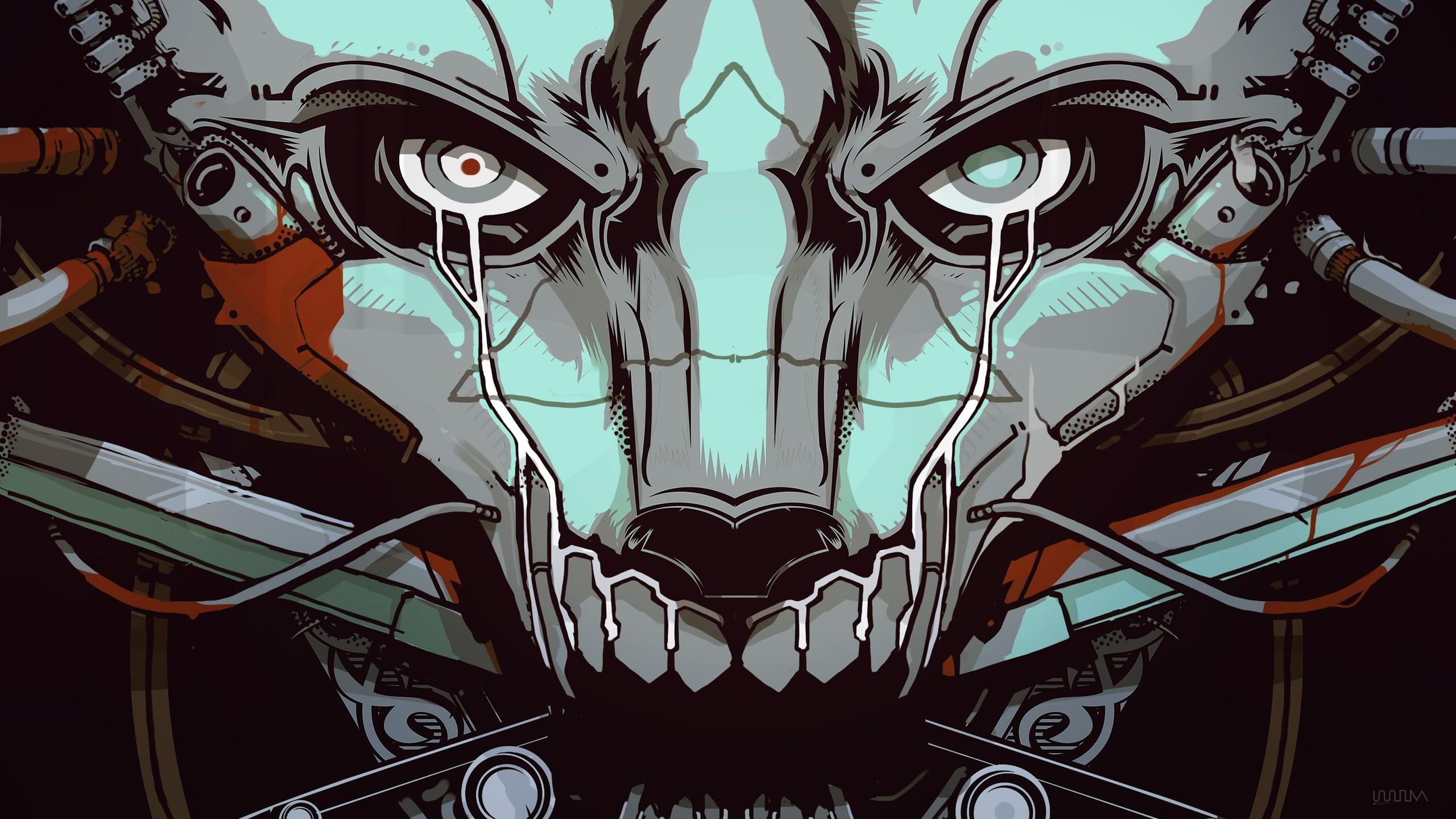 Simple Wallpaper Music Skull - illustration-digital-art-cyberpunk-anime-robot-futuristic-artwork-music-skull-cyborg-machine-comics-comics-artist-comic-book-215605  Image_94322.jpg